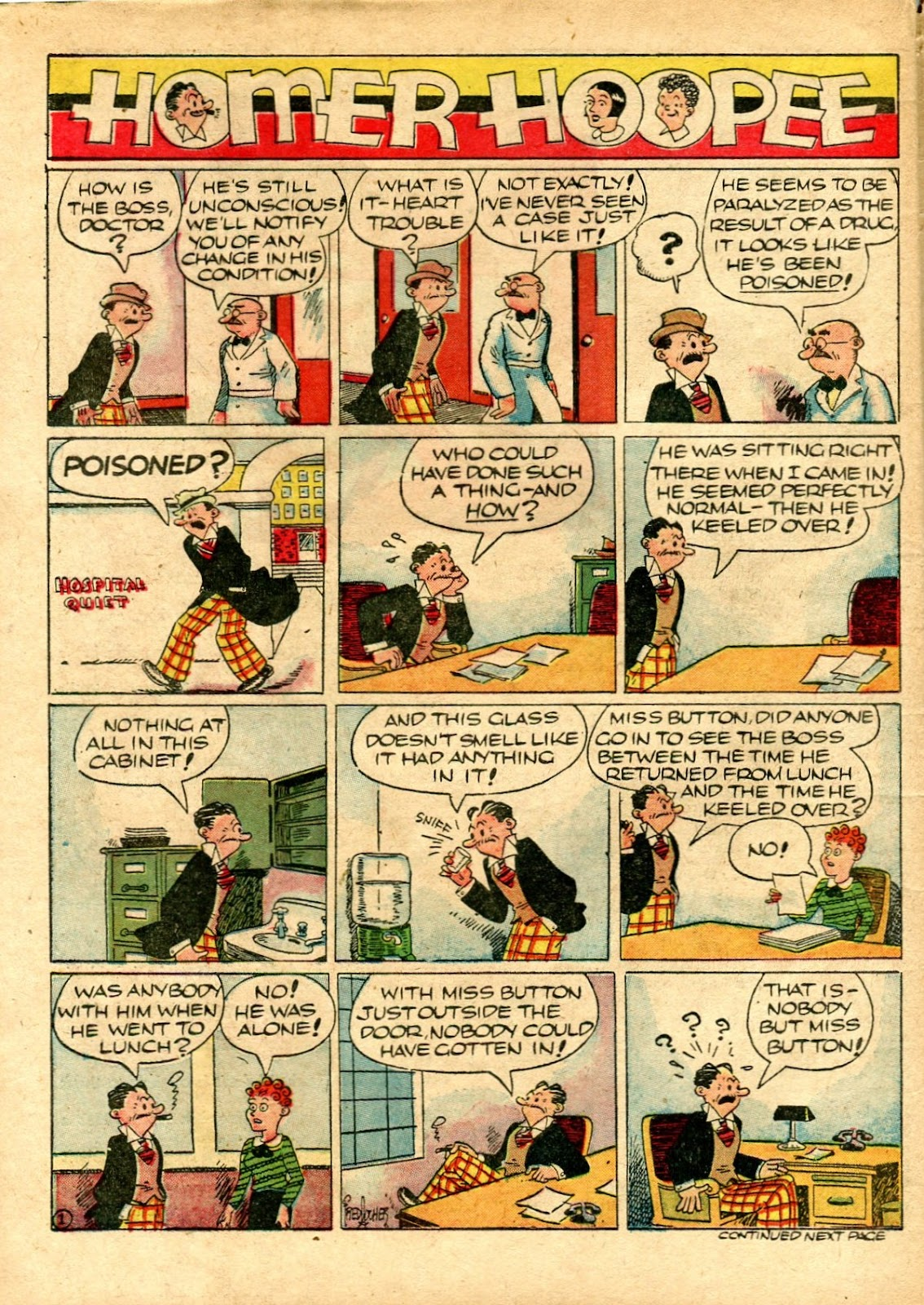 Read online Famous Funnies comic -  Issue #72 - 62
