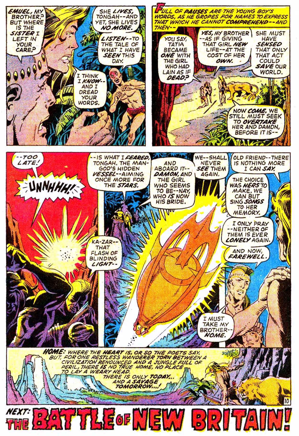 Read online Astonishing Tales (1970) comic -  Issue #7 - 21