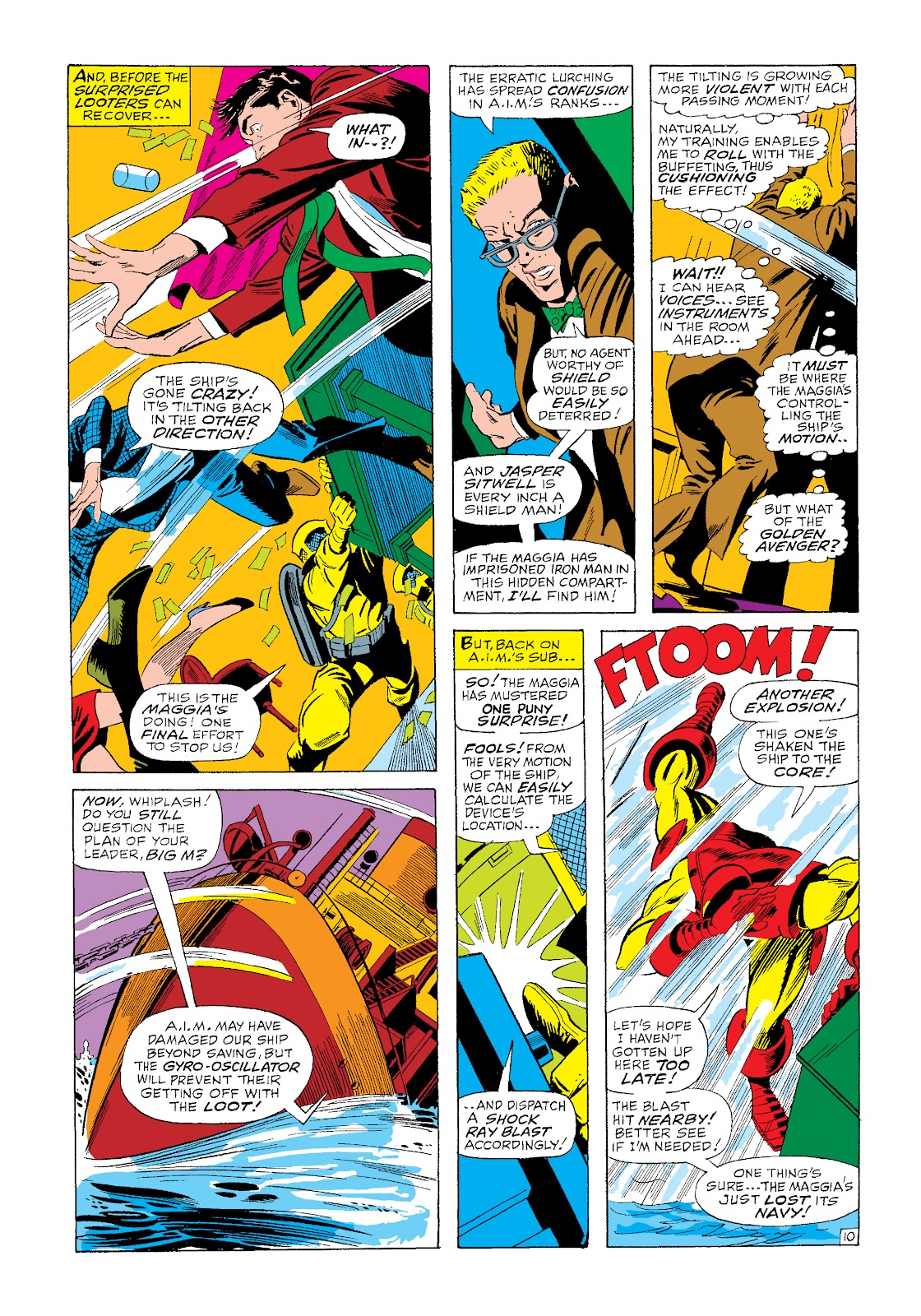 Read online Marvel Masterworks: The Invincible Iron Man comic -  Issue # TPB 4 (Part 3) - 22