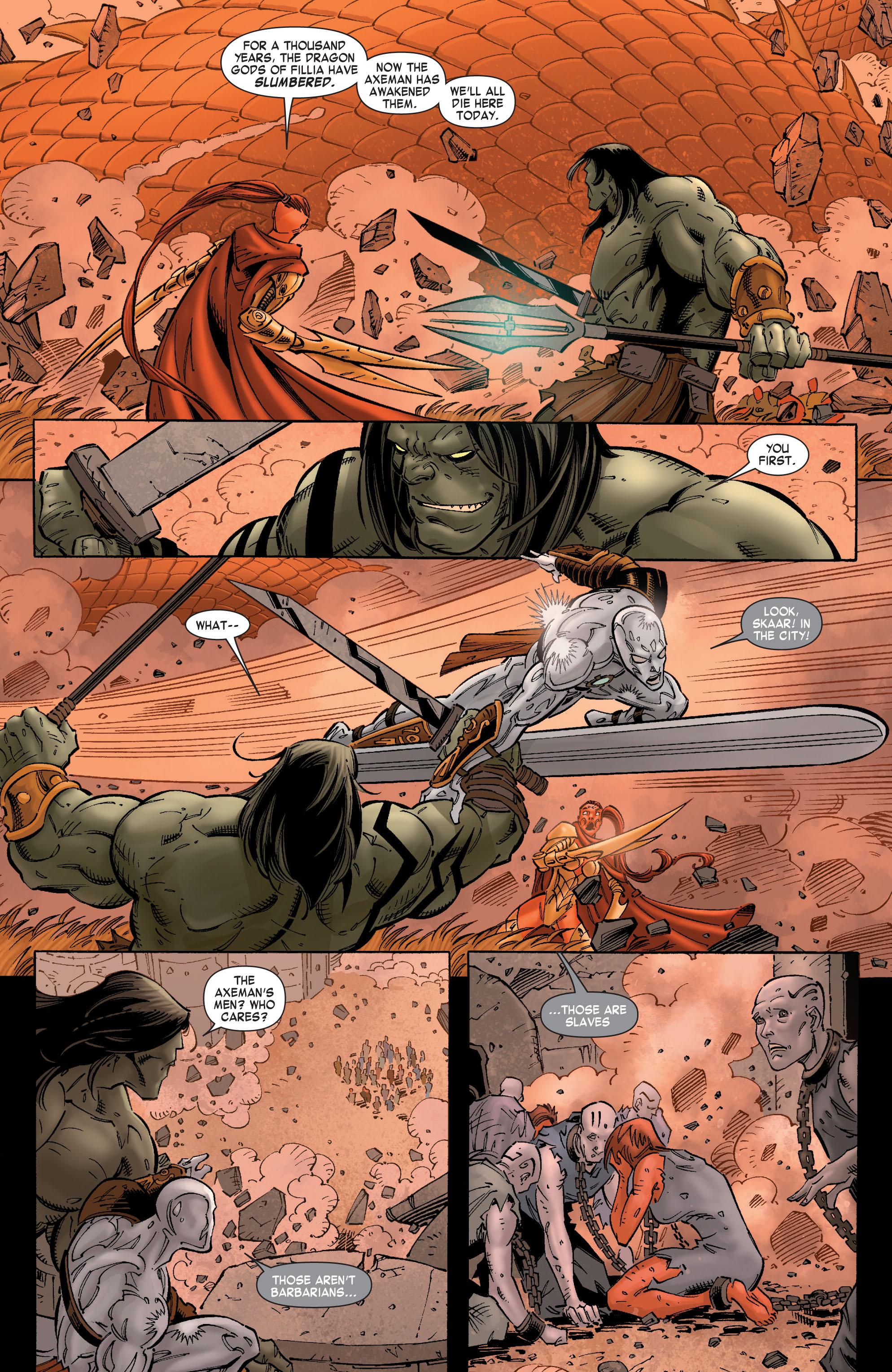 Read online Skaar: Son of Hulk comic -  Issue #8 - 18