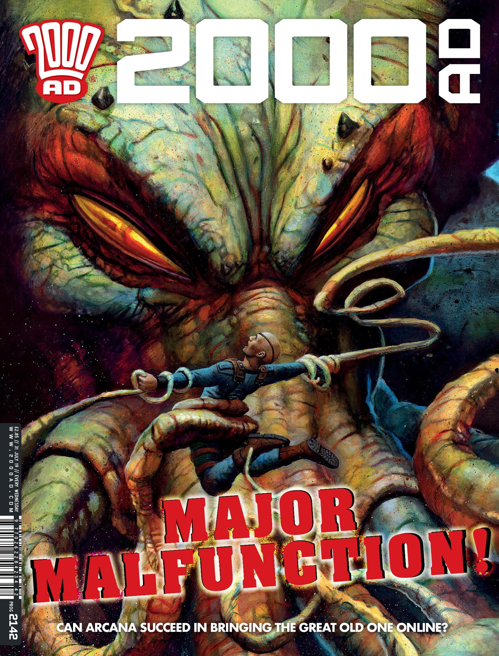 2000 AD 2142 Page 1