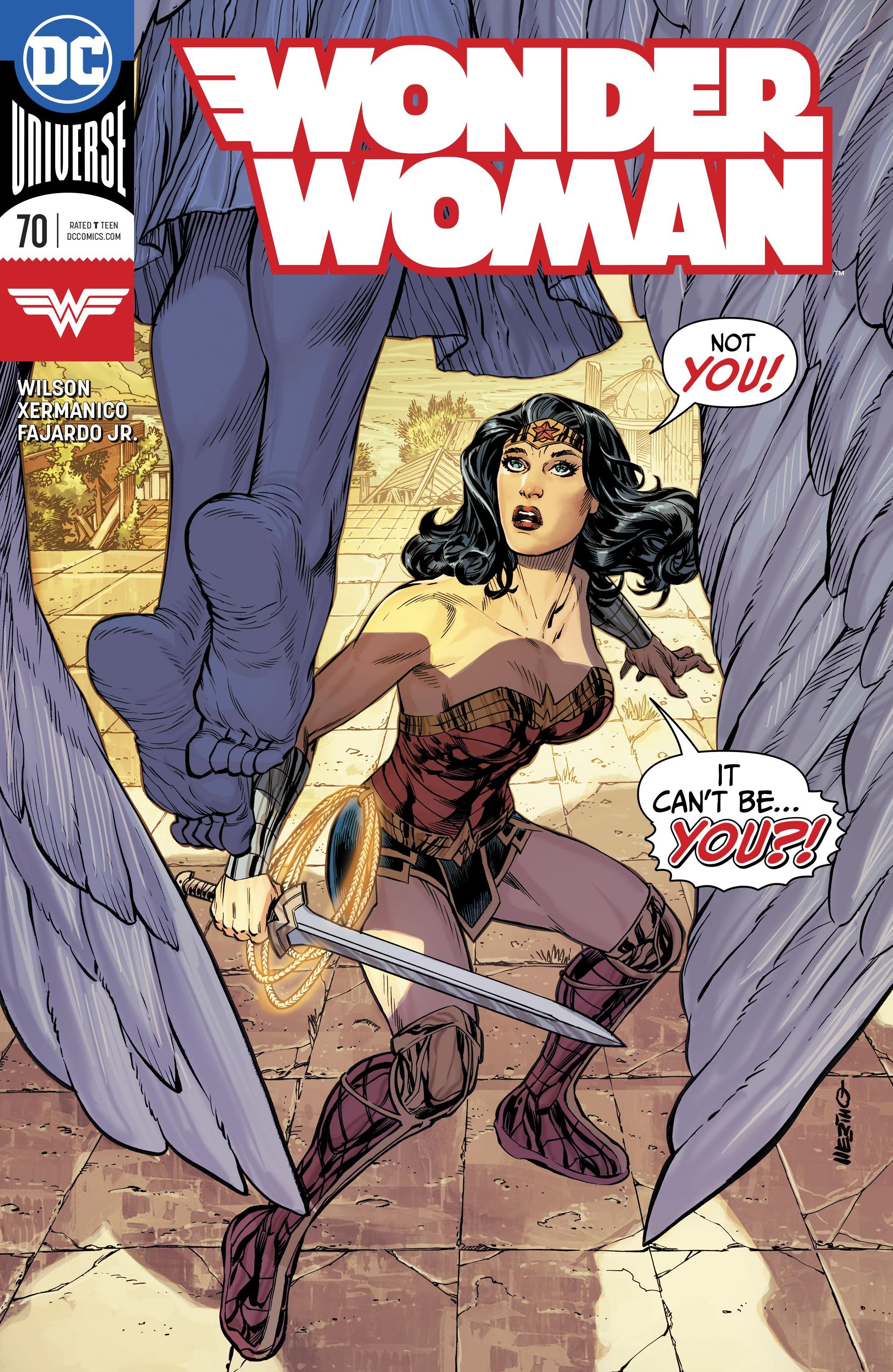 Wonder Woman (2016) 70 Page 1
