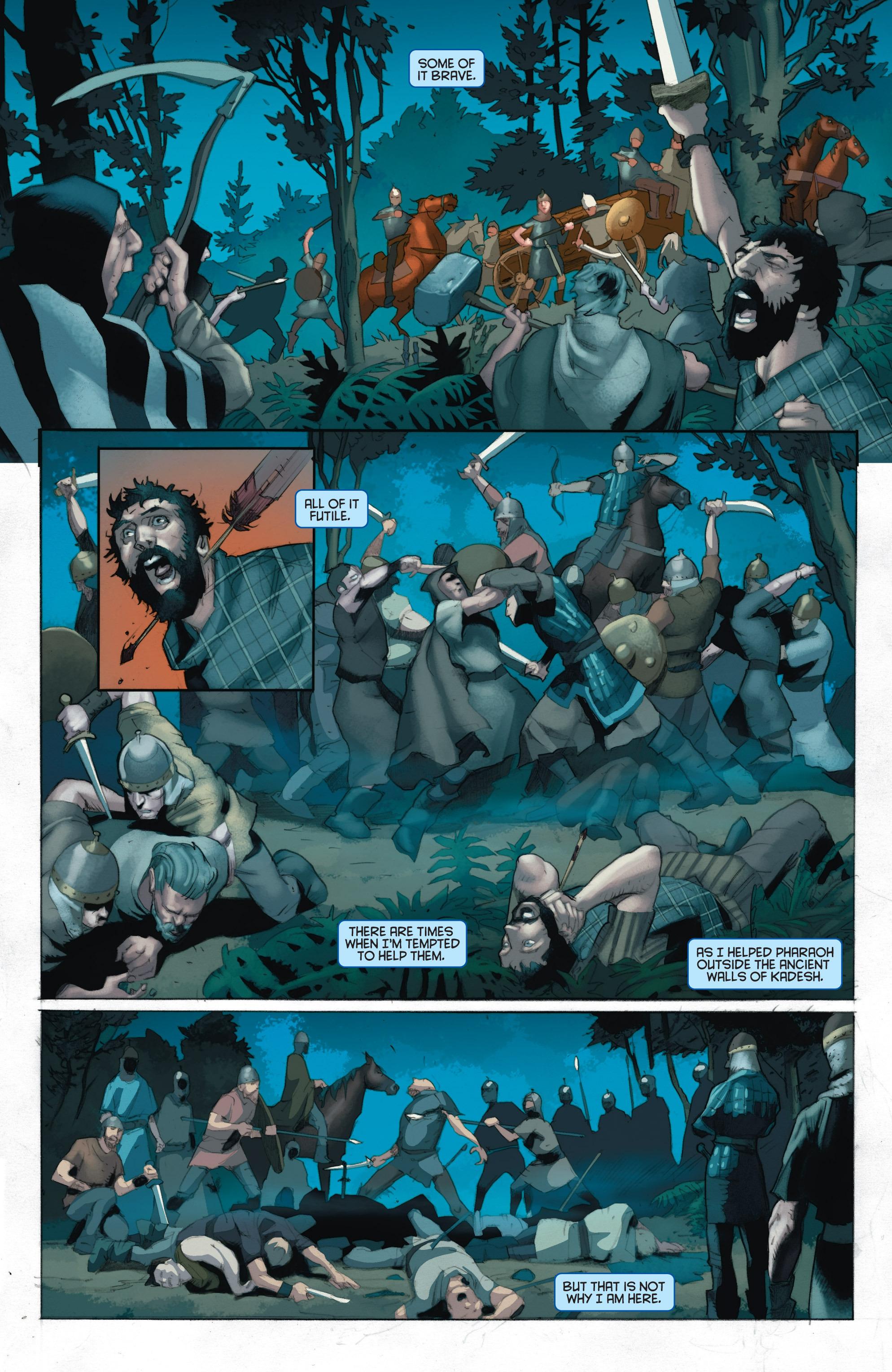 Read online Eternal Warrior: Days of Steel comic -  Issue #1 - 16