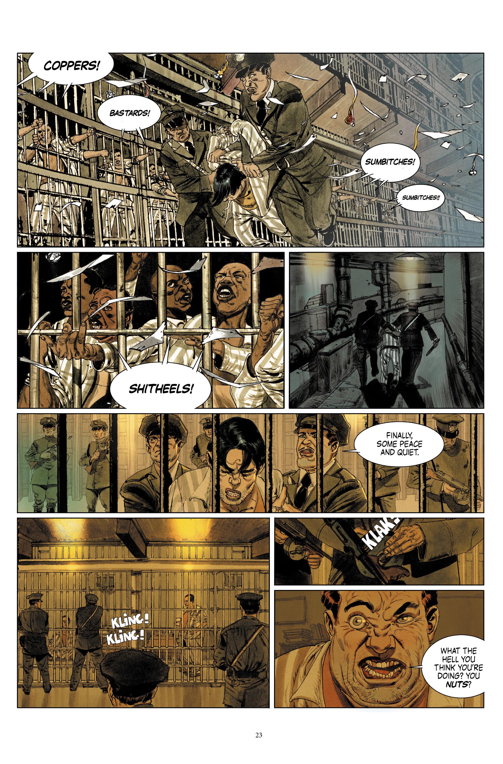 Read online Triggerman comic -  Issue #1 - 28