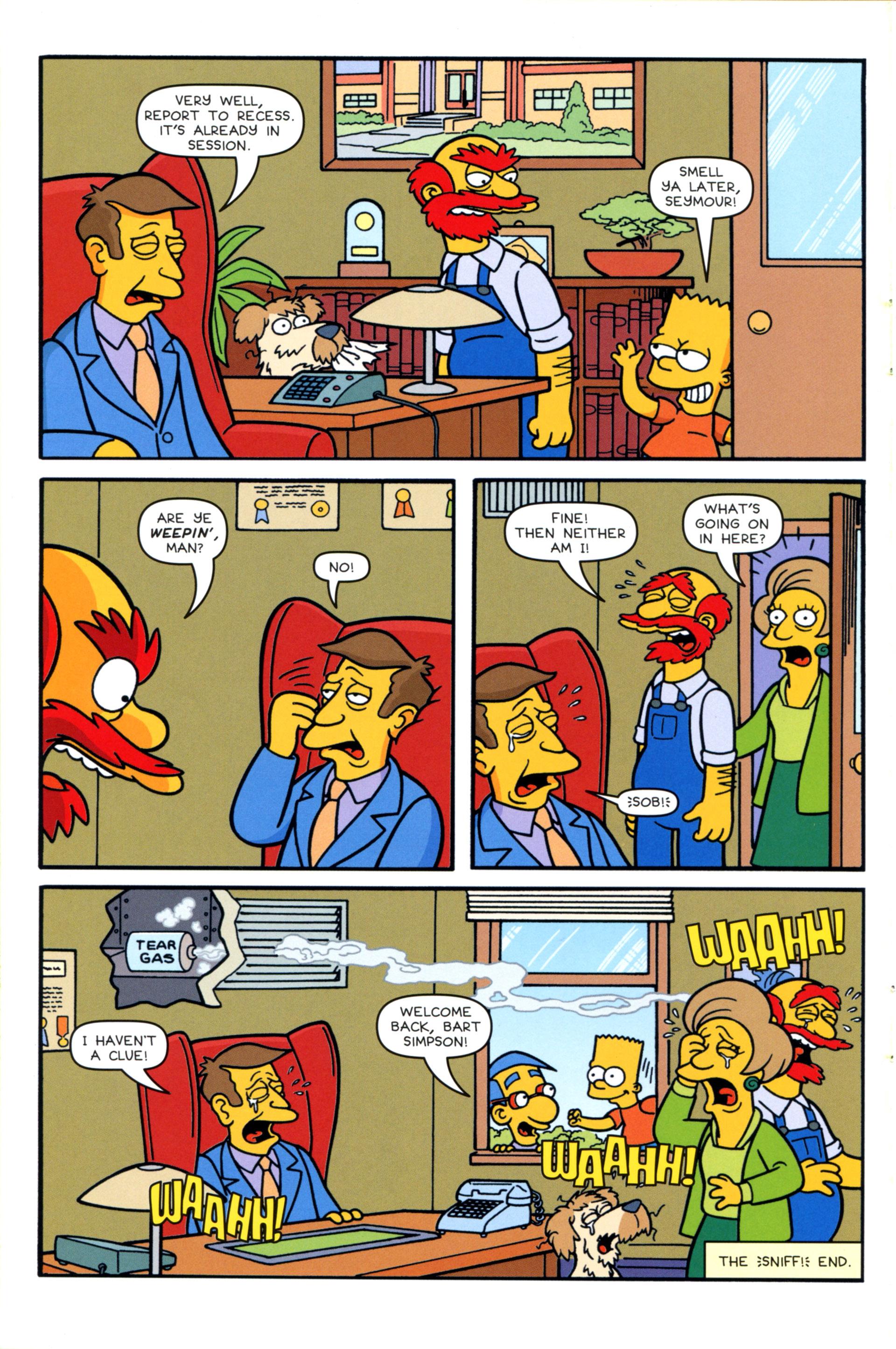 Read online Simpsons Comics comic -  Issue #202 - 26