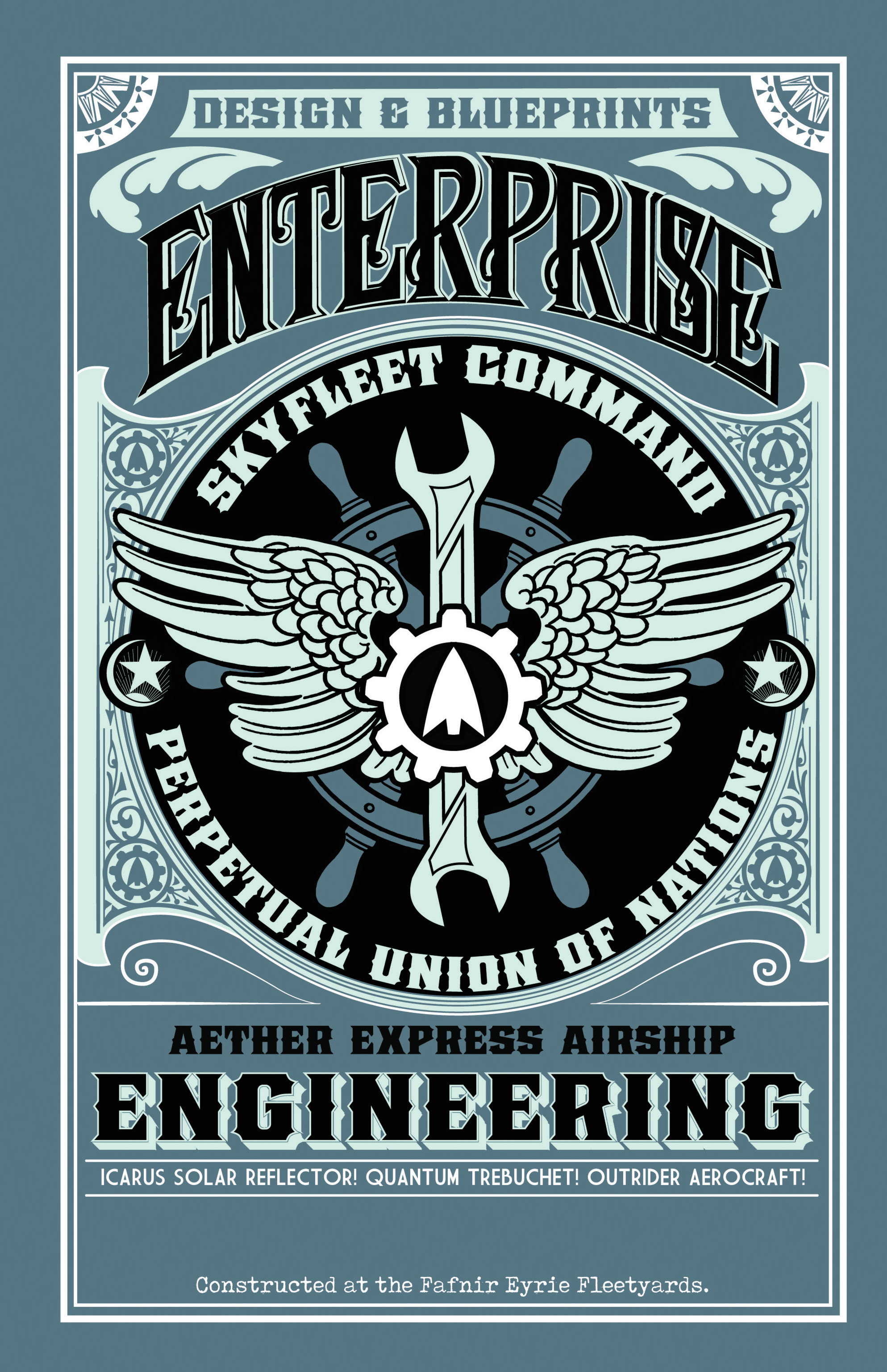 Read online Airship Enterprise: The Infernal Machine comic -  Issue #3 - 20