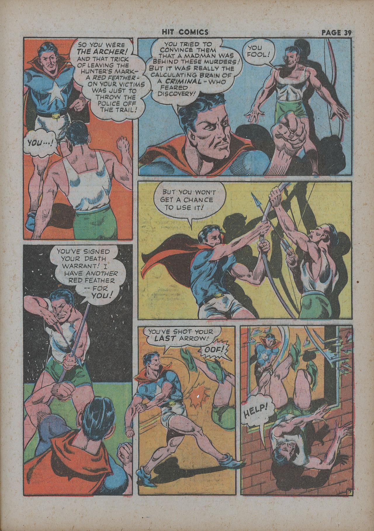 Read online Hit Comics comic -  Issue #27 - 41