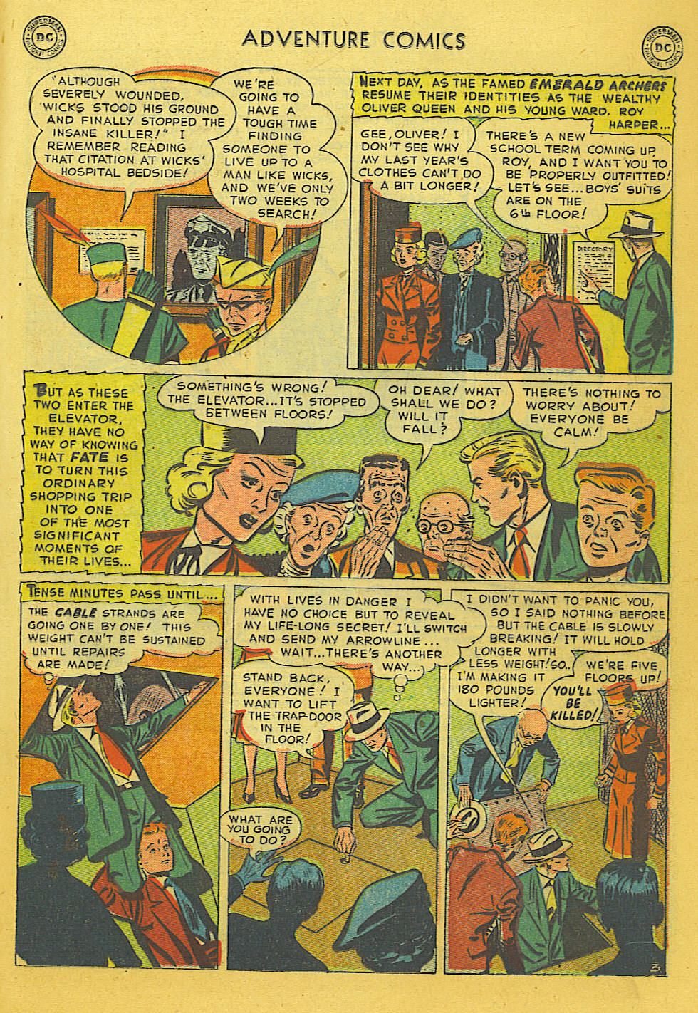 Read online Adventure Comics (1938) comic -  Issue #169 - 16