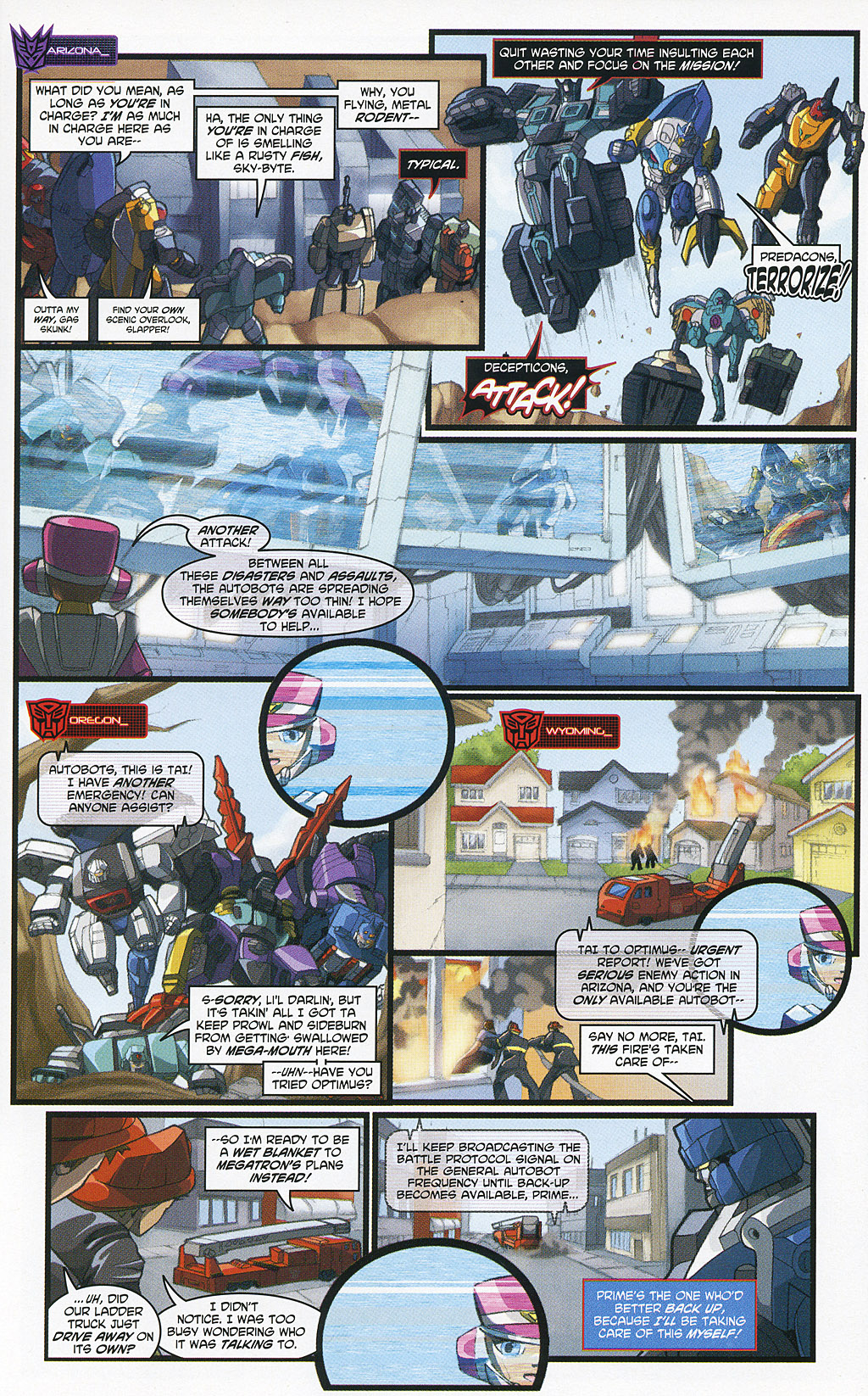 Read online Transformers 20th Anniversary Summer Special comic -  Issue # Full - 24