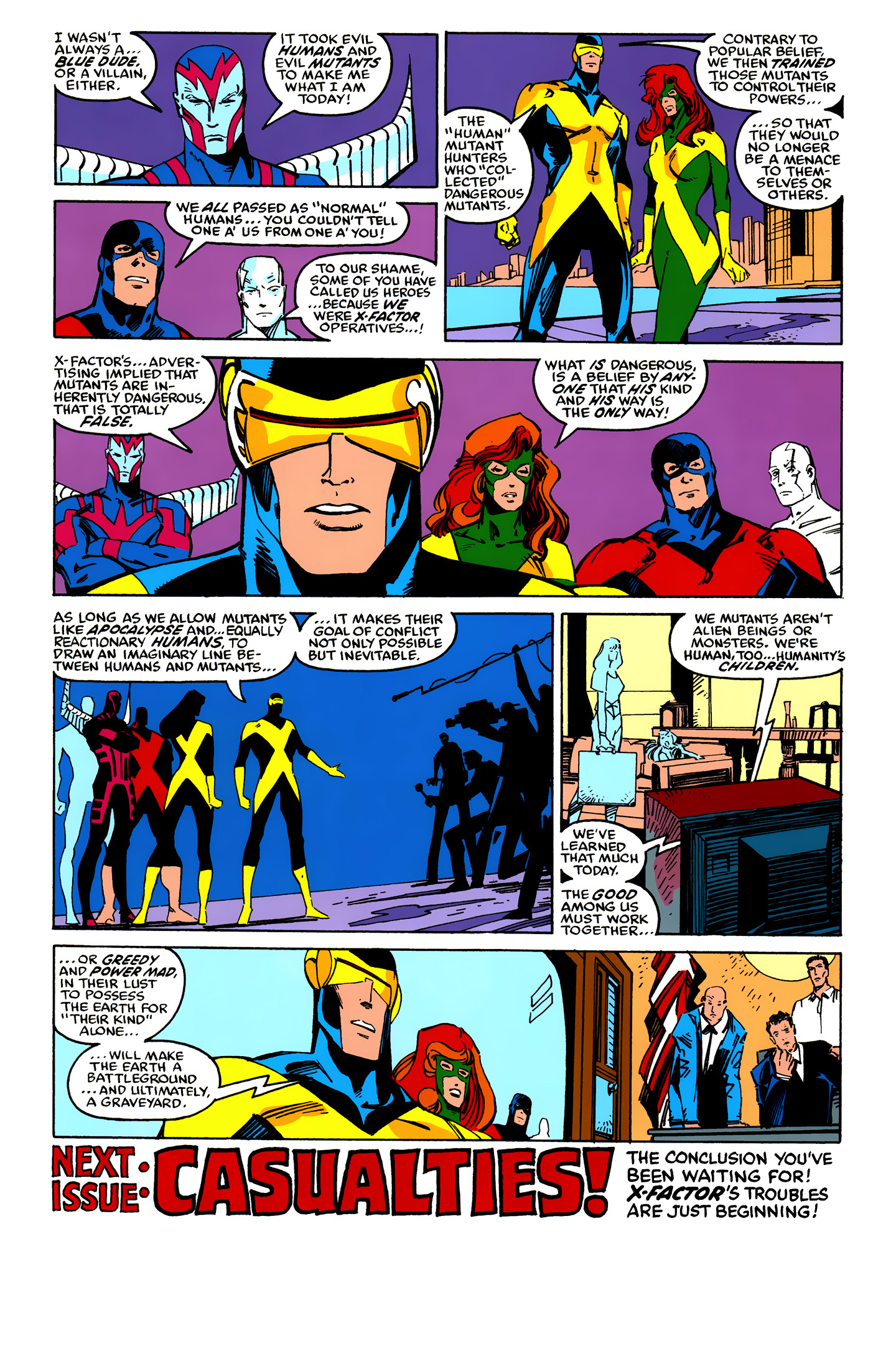 Read online X-Factor (1986) comic -  Issue #25 - 40