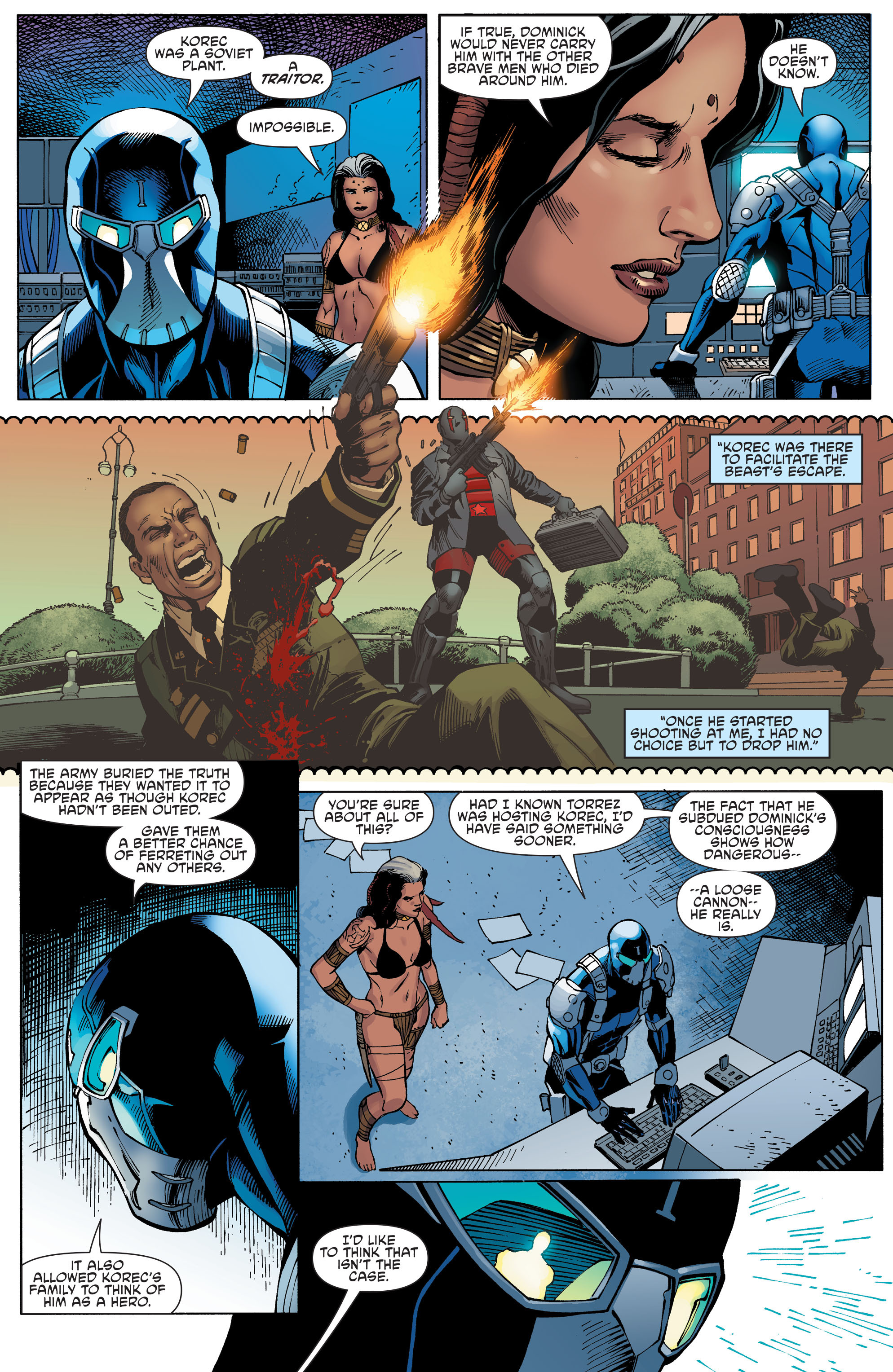 Read online Aquaman and the Others comic -  Issue #9 - 11