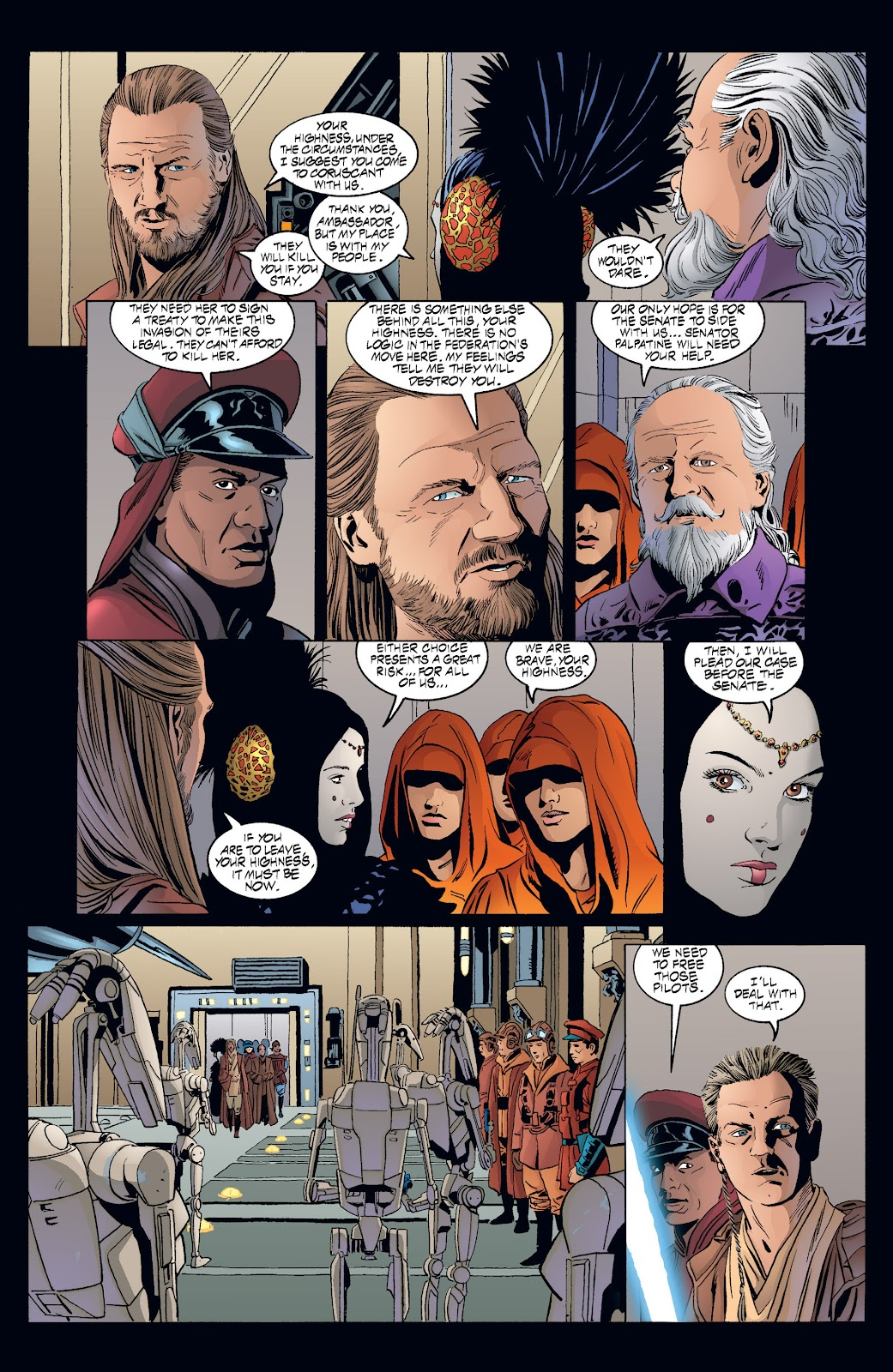 Read online Star Wars Legends: Rise of the Sith - Epic Collection comic -  Issue # TPB 2 (Part 3) - 58