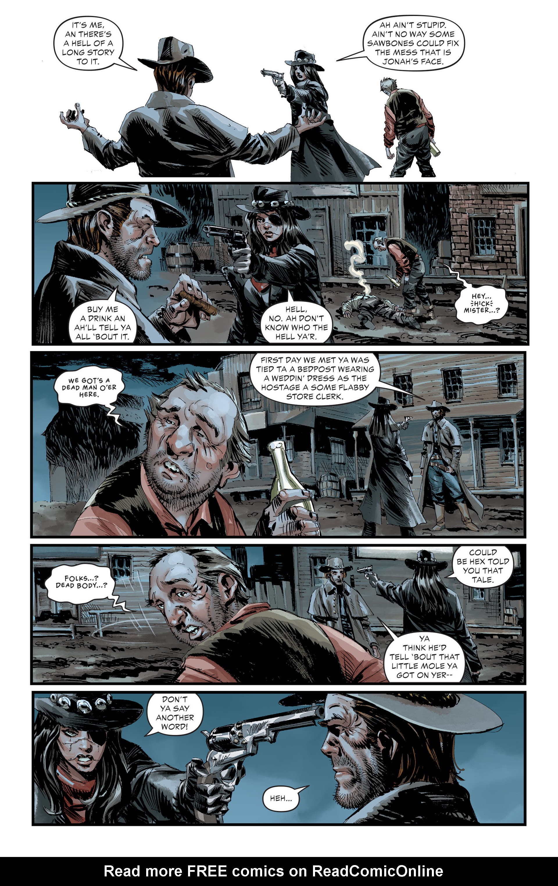 Read online All-Star Western (2011) comic -  Issue #30 - 10