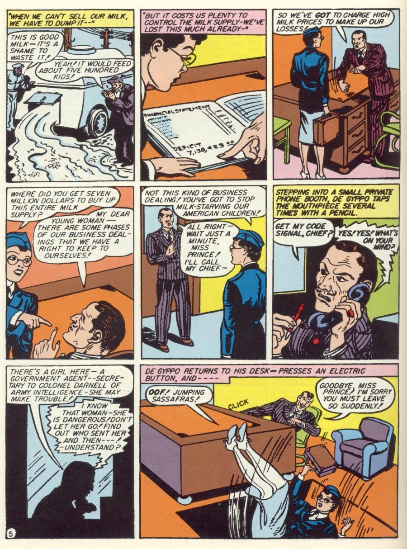 Read online Sensation (Mystery) Comics comic -  Issue #7 - 7