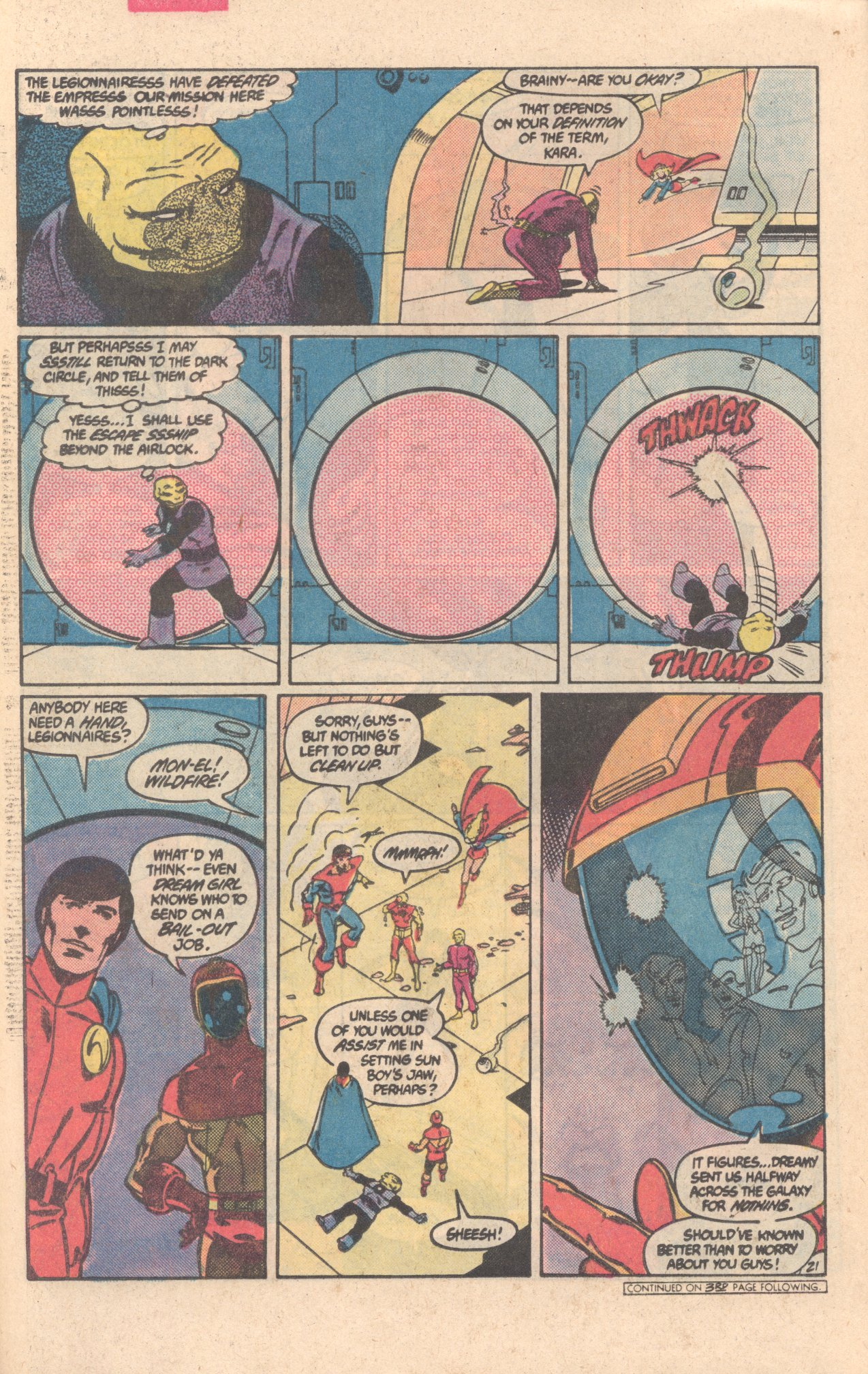 Legion of Super-Heroes (1980) 303 Page 21