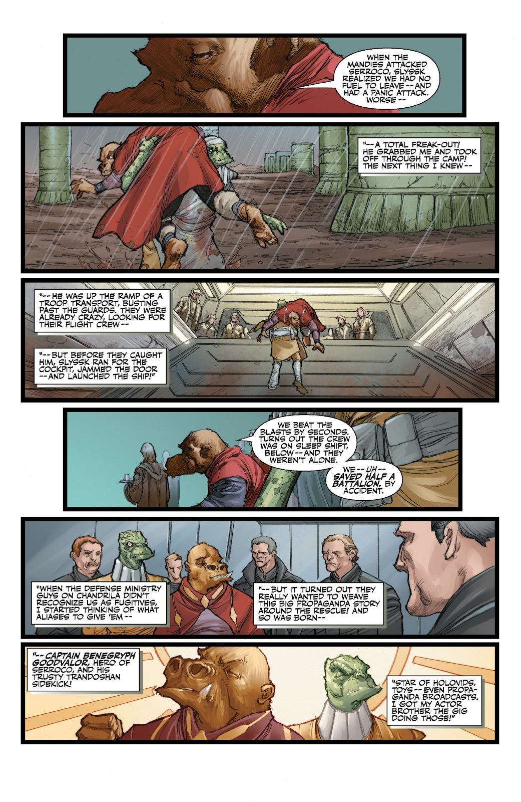 Read online Star Wars Legends: The Old Republic - Epic Collection comic -  Issue # TPB 3 (Part 3) - 20