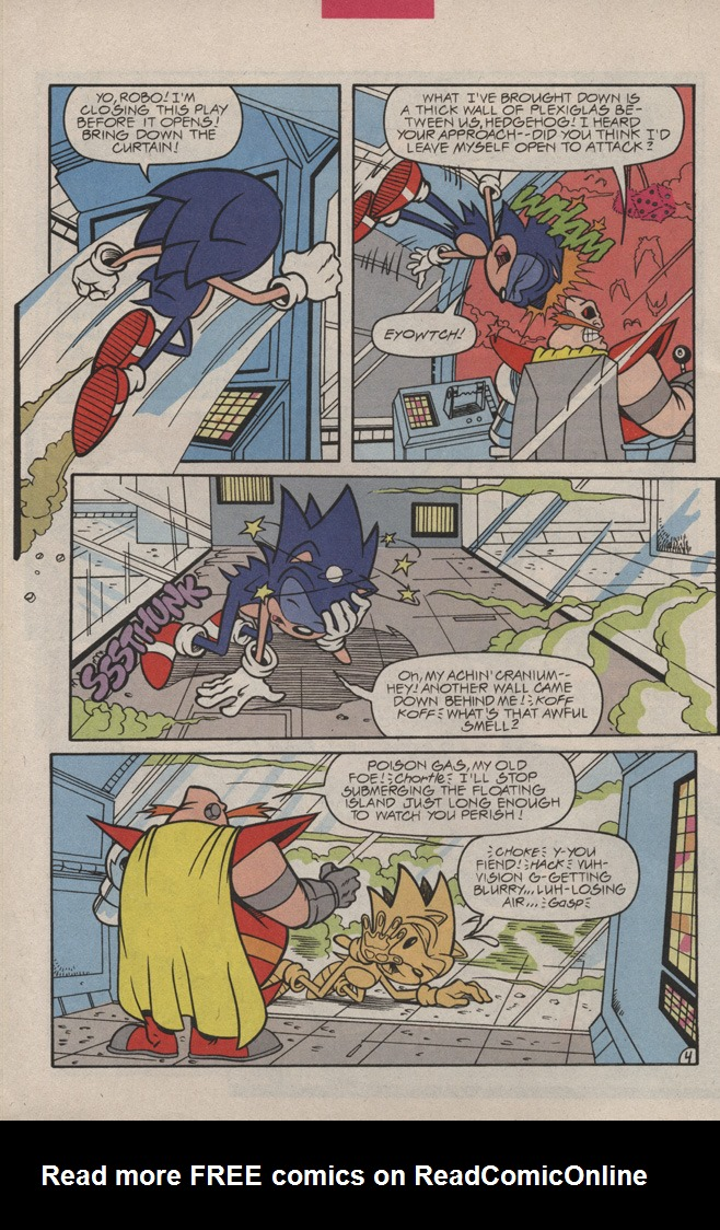 Read online Sonic Quest - The Death Egg Saga comic -  Issue #3 - 8