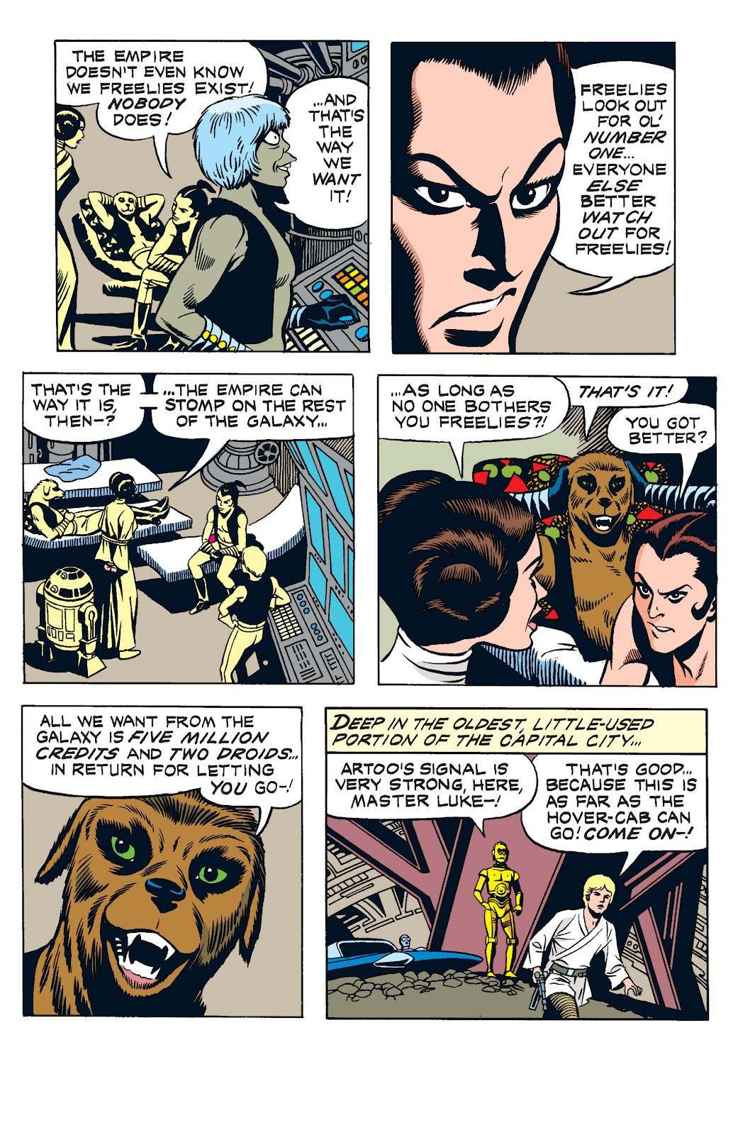 Read online Star Wars Legends: The Newspaper Strips - Epic Collection comic -  Issue # TPB (Part 2) - 10