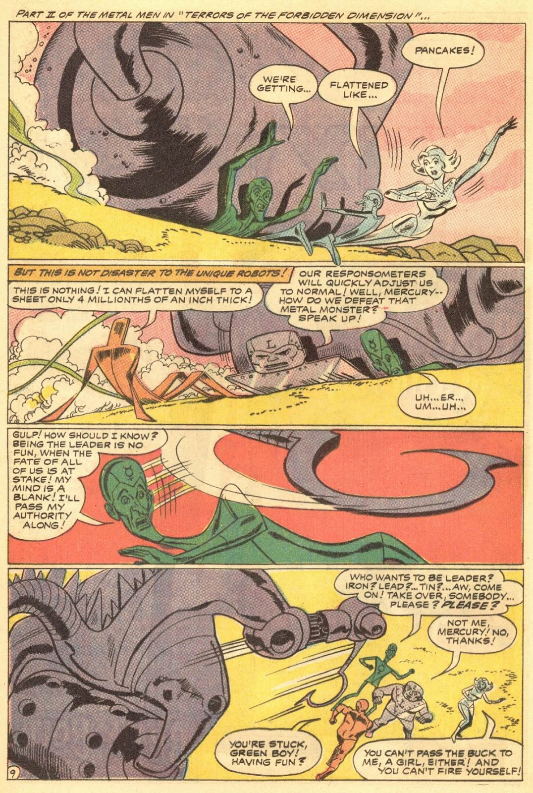 Metal Men (1963) issue 30 - Page 12