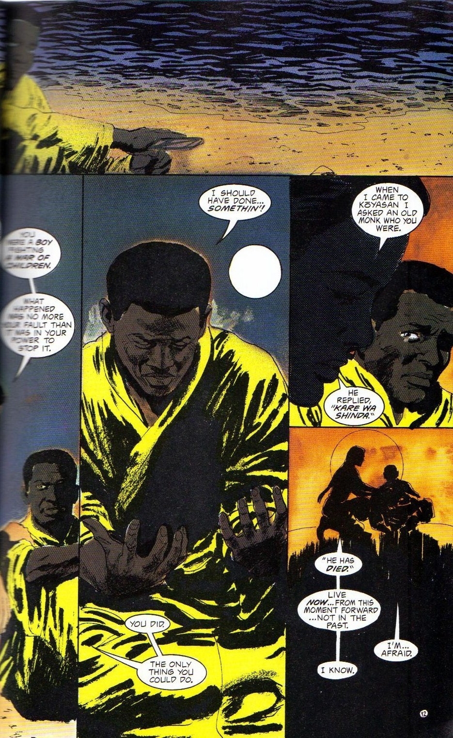 Read online Shado: Song of the Dragon comic -  Issue #4 - 15