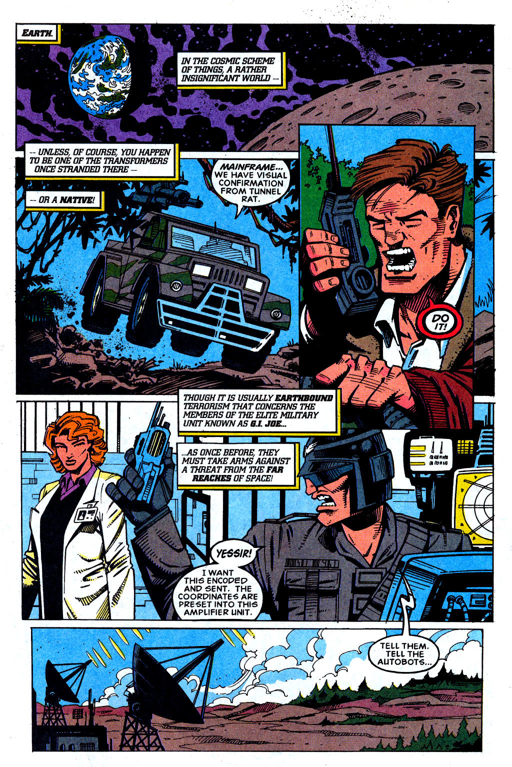 Read online Transformers: Generation 2 comic -  Issue #1 - 24