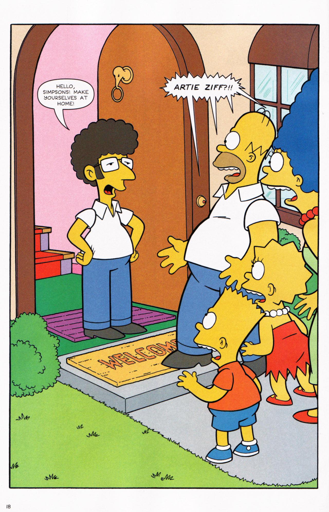 Read online Simpsons Comics comic -  Issue #130 - 16