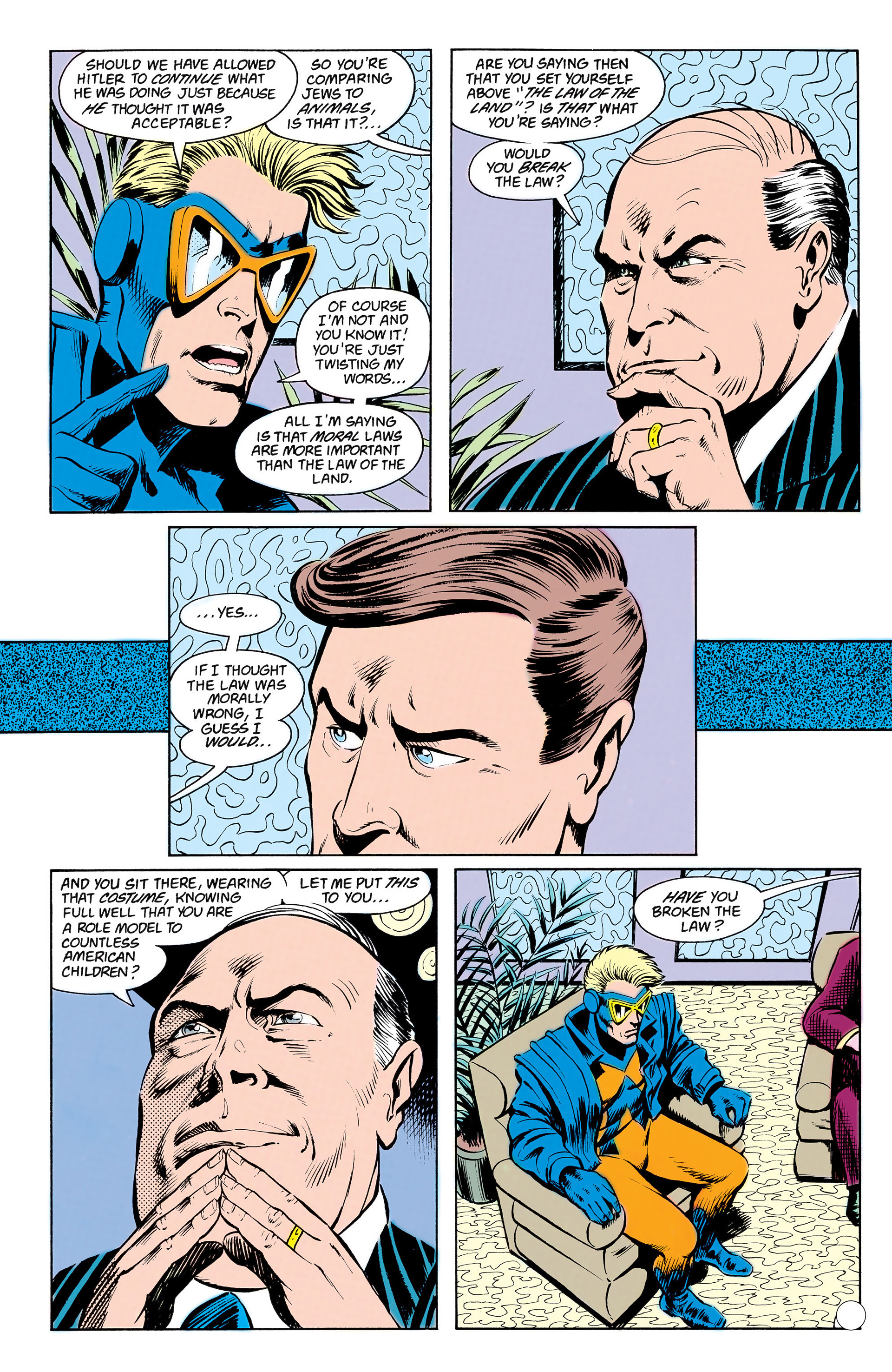 Read online Animal Man (1988) comic -  Issue #17 - 20