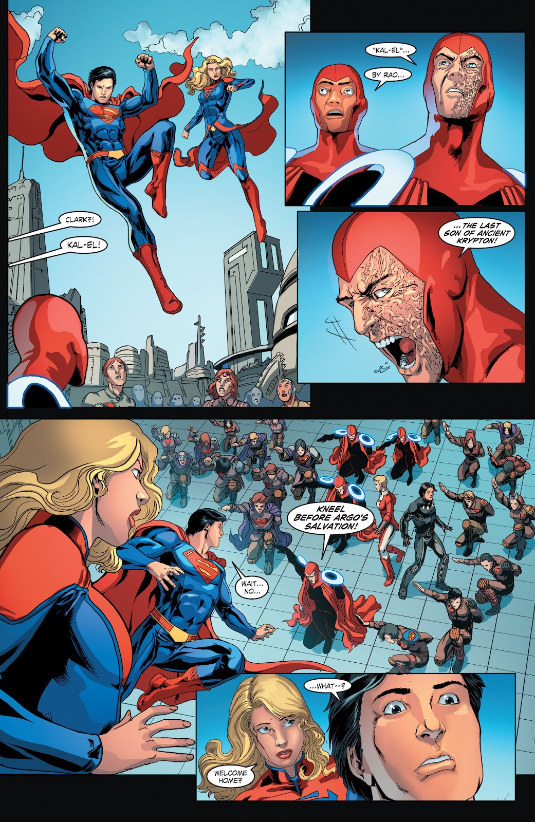 Read online Smallville Season 11 [II] comic -  Issue # TPB 4 - 48
