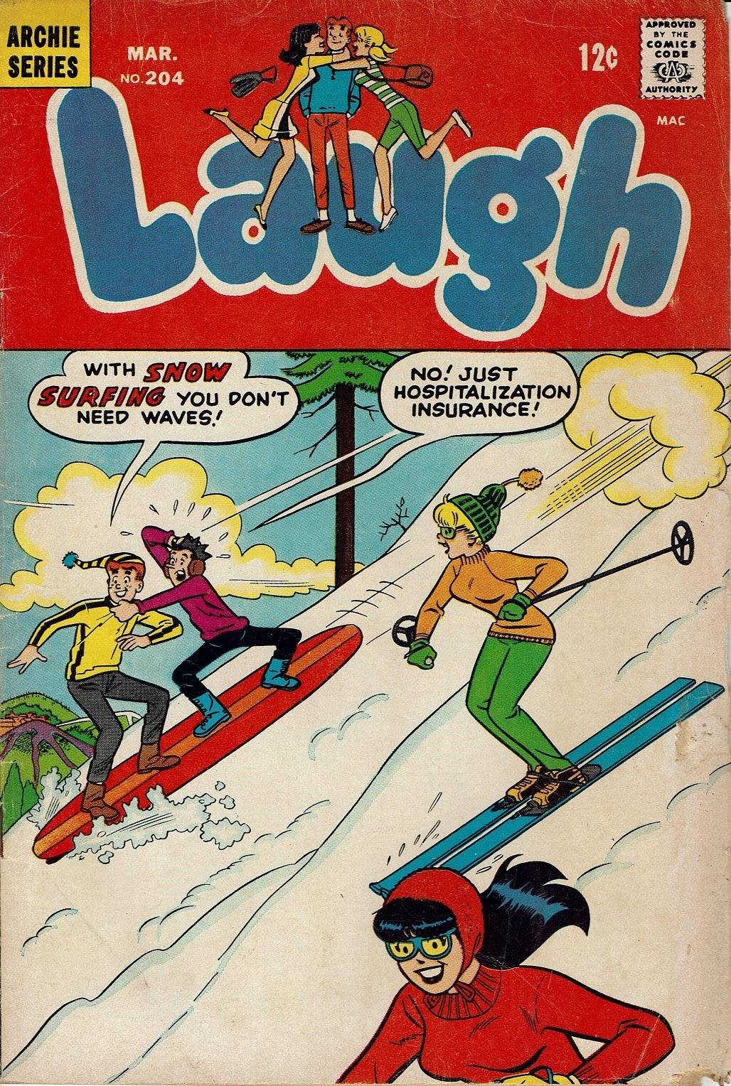 Laugh (Comics) 204 Page 1