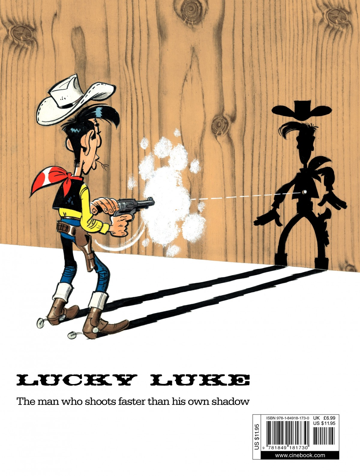 Read online A Lucky Luke Adventure comic -  Issue #43 - 49