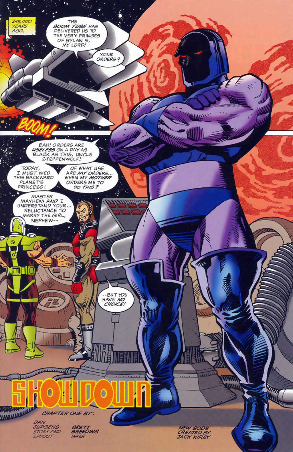 Read online Doomsday Annual comic -  Issue # Full - 8
