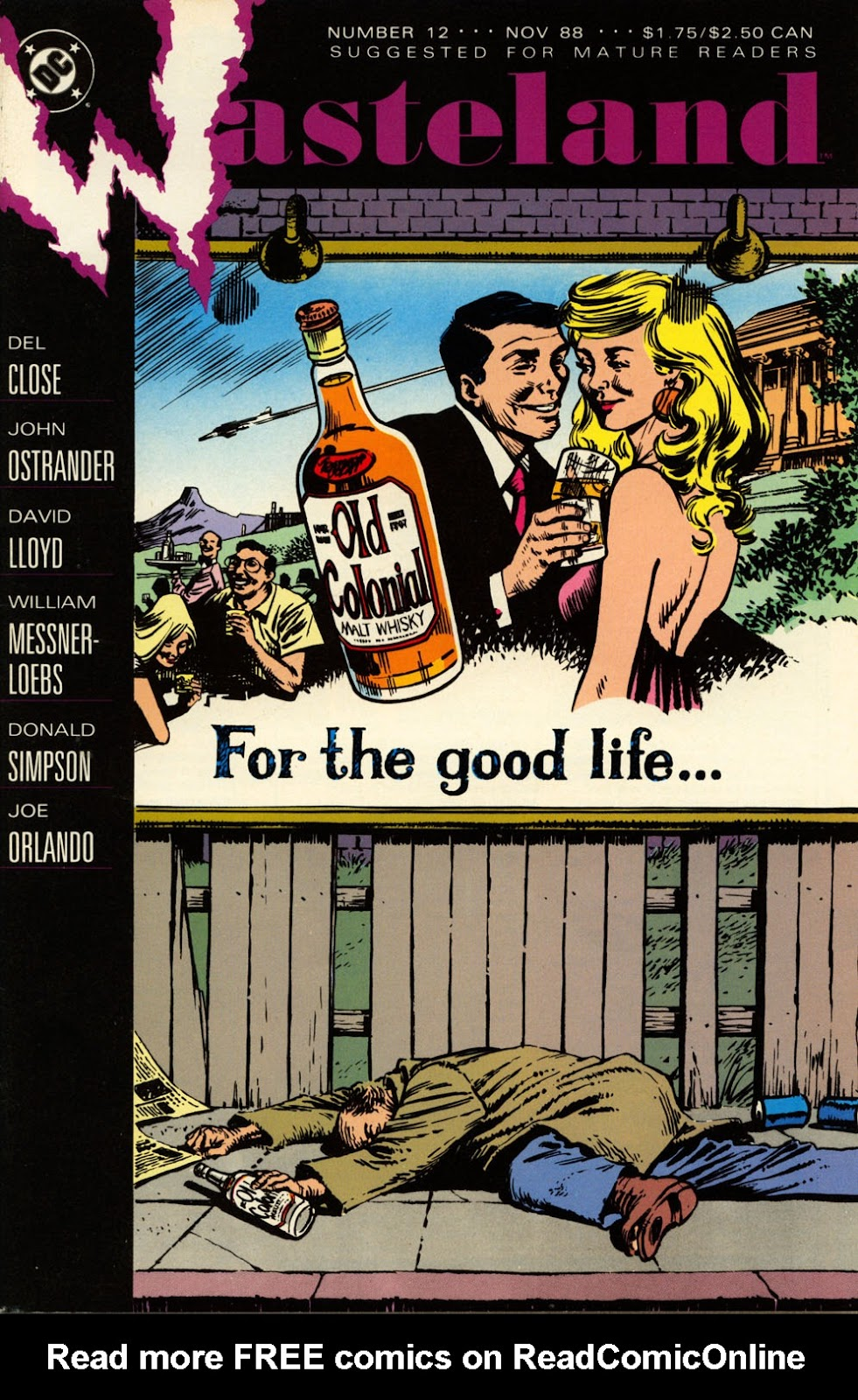 Wasteland (1987) 12 Page 1