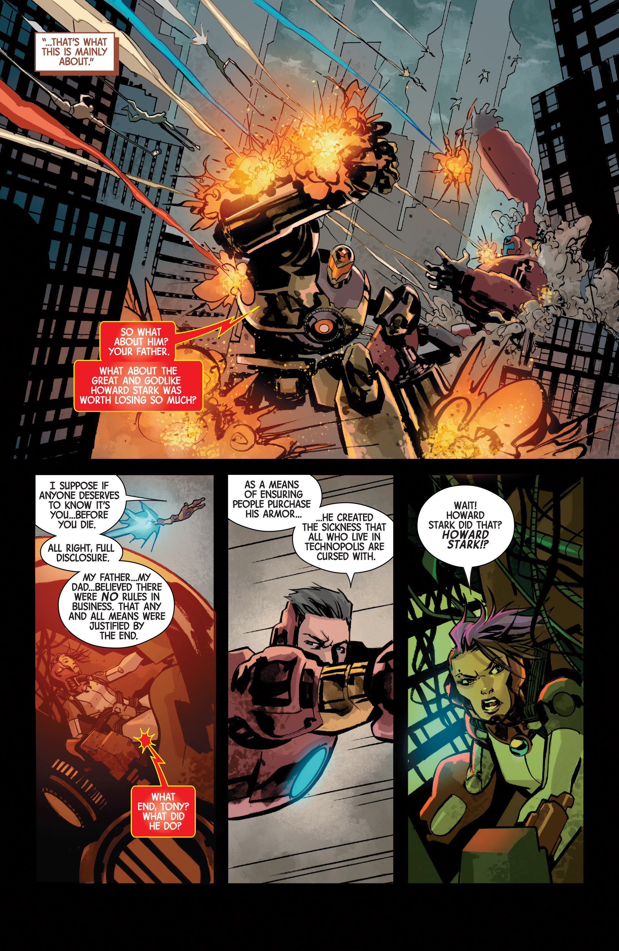 Read online Armor Wars comic -  Issue #5 - 10