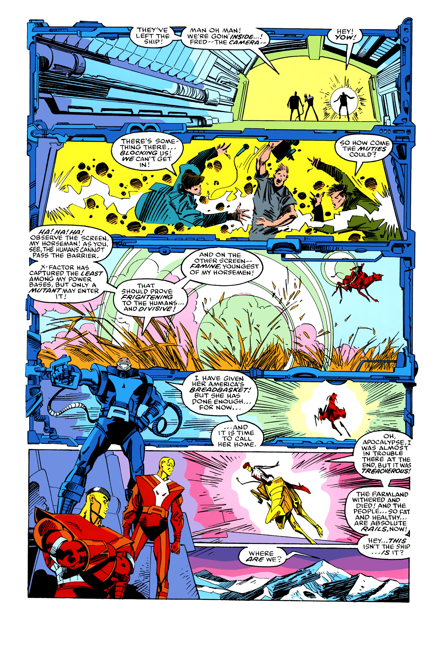 Read online X-Factor (1986) comic -  Issue #26 - 5