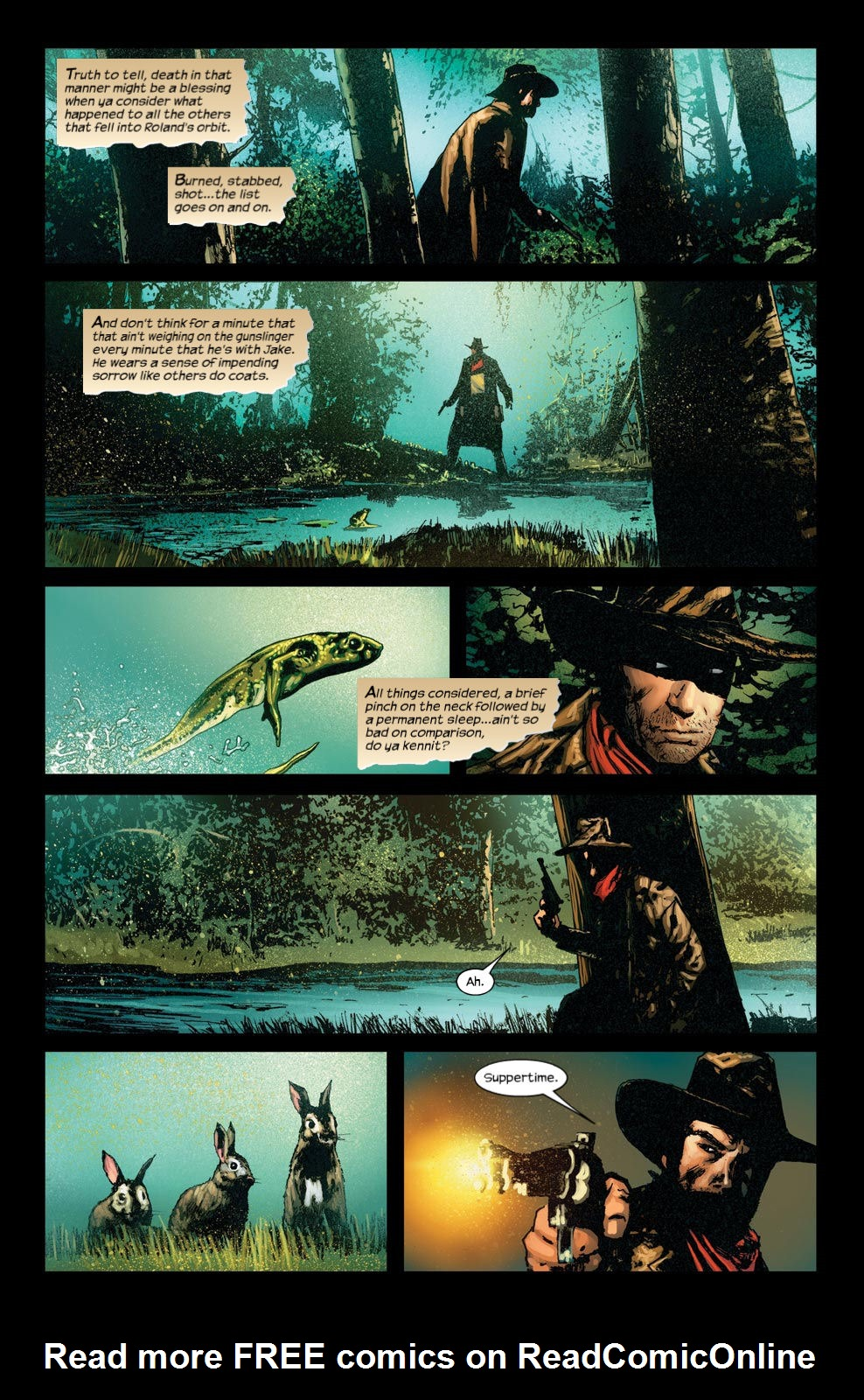 Read online Dark Tower: The Gunslinger - The Way Station comic -  Issue #4 - 12
