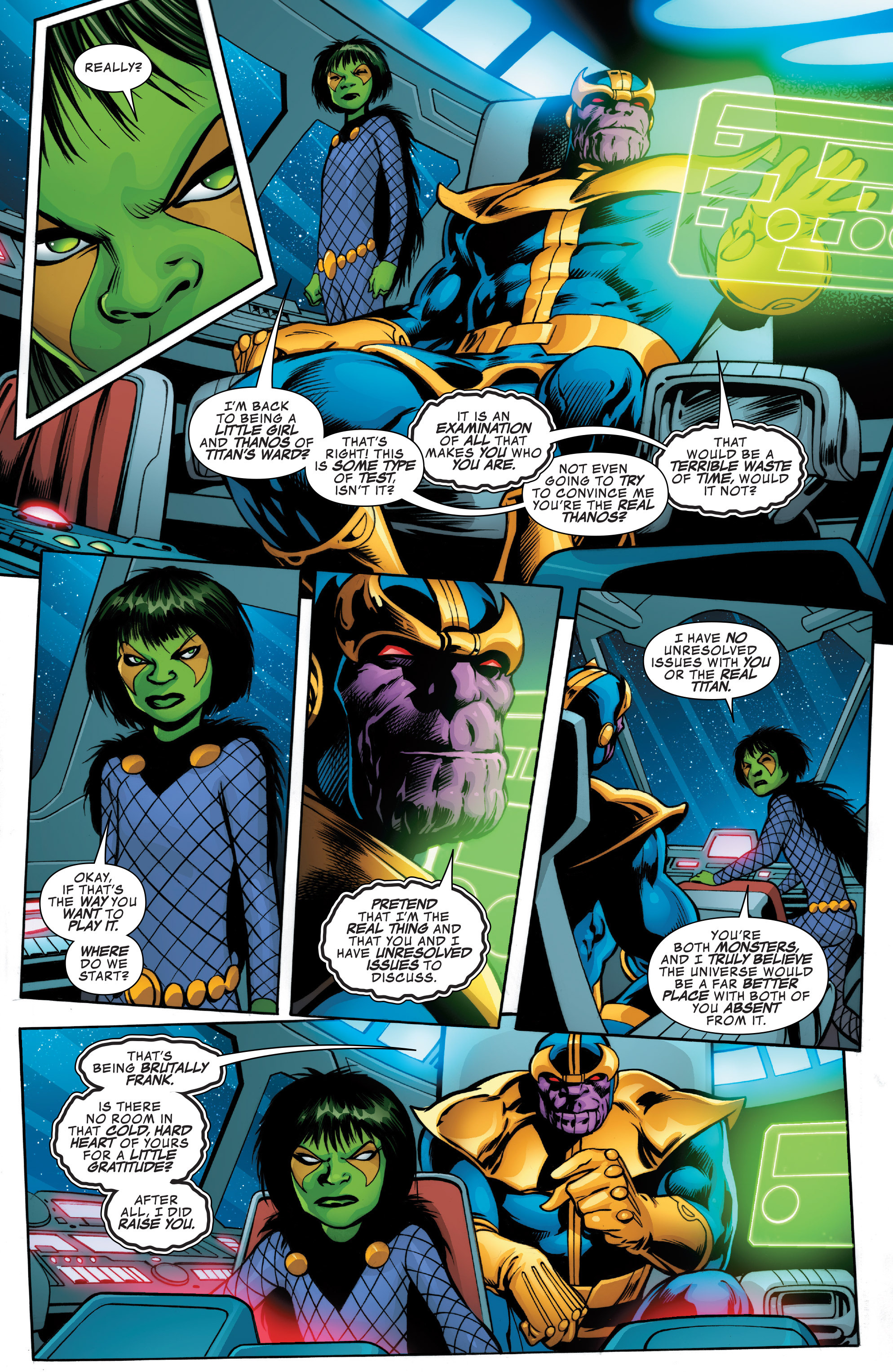 Read online Guardians of the Galaxy: Mother Entropy comic -  Issue #2 - 17