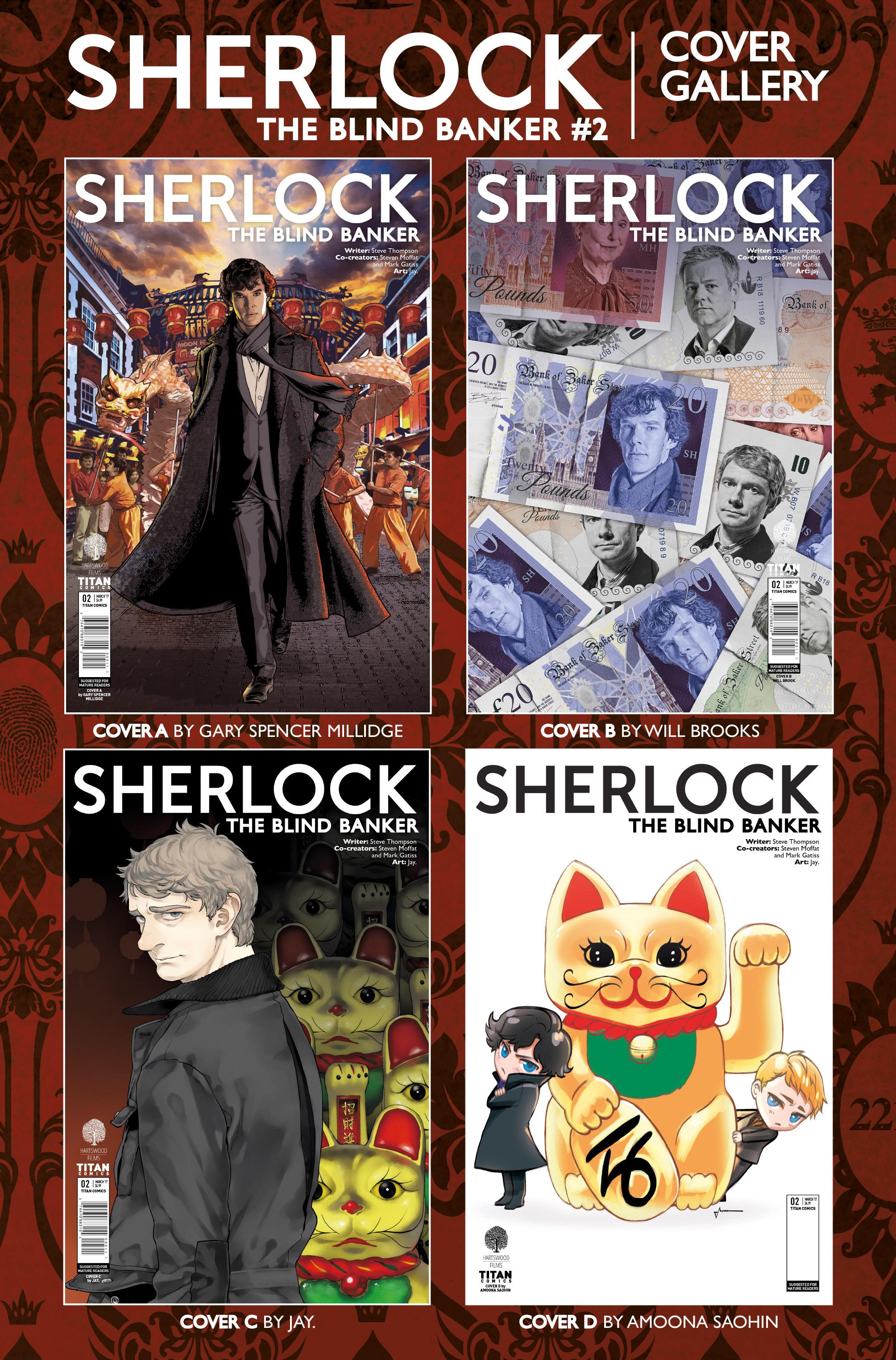 Read online Sherlock: The Blind Banker comic -  Issue #2 - 38