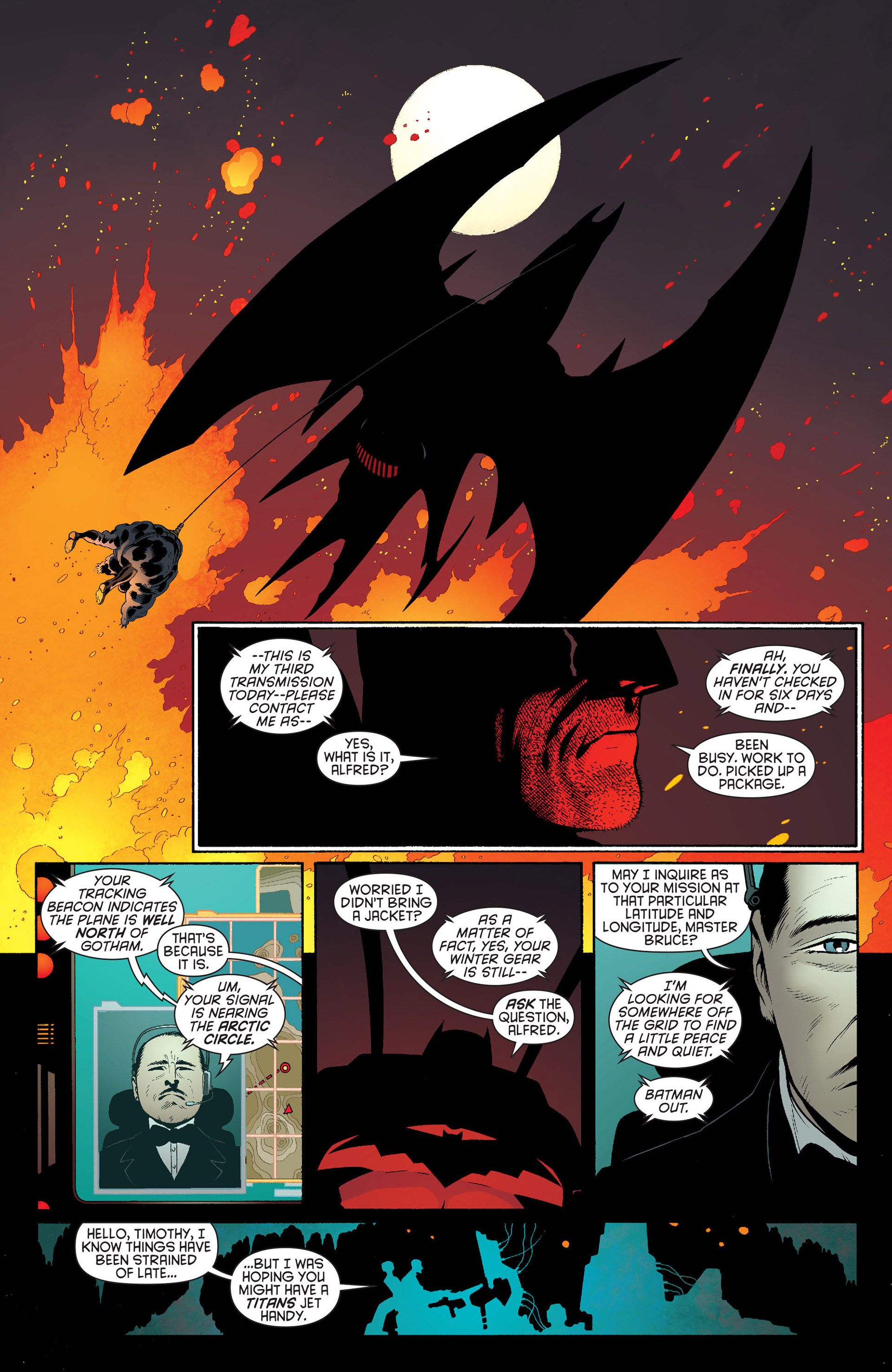 Read online Batman and Robin (2011) comic -  Issue #19 - 9