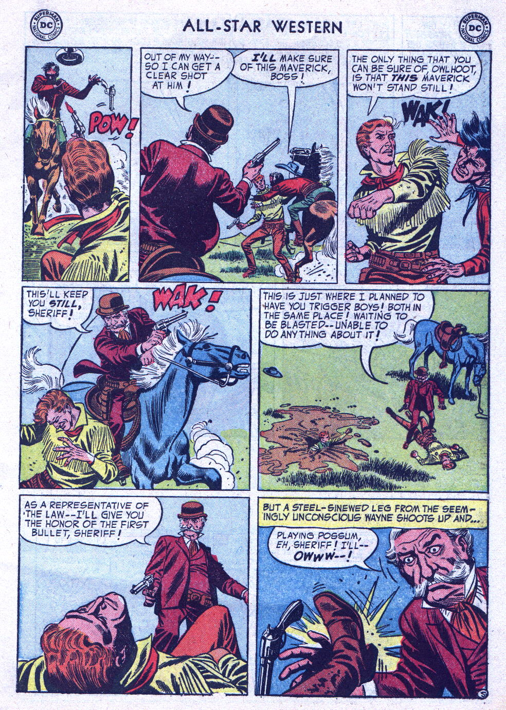 Read online All-Star Western (1951) comic -  Issue #76 - 7