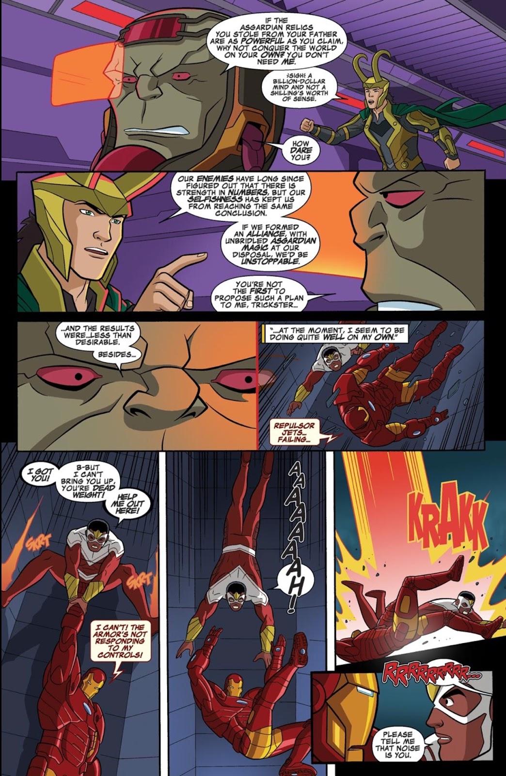 Read online Marvel Universe Avengers Assemble Season 2 comic -  Issue #1 - 27