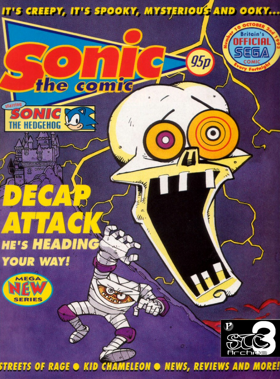 Read online Sonic the Comic comic -  Issue #10 - 1