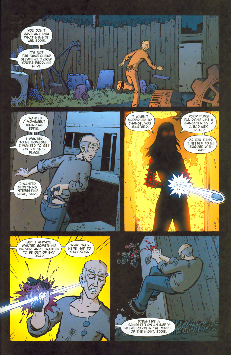 Read online Mek comic -  Issue #3 - 23