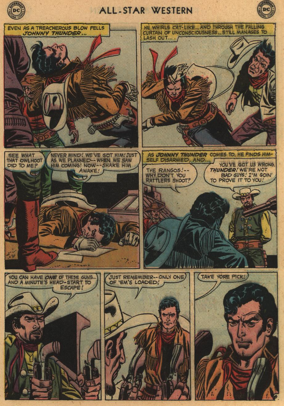 Read online All-Star Western (1951) comic -  Issue #100 - 29