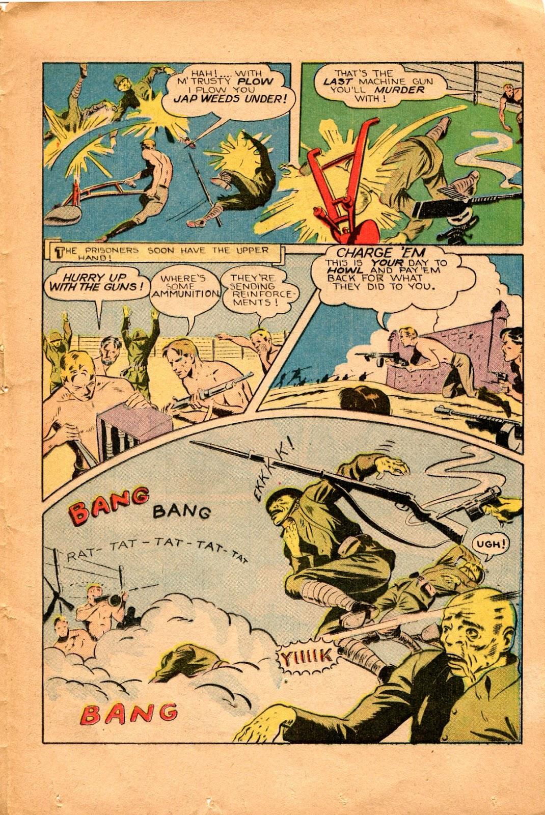 Read online Super-Magician Comics comic -  Issue #34 - 37