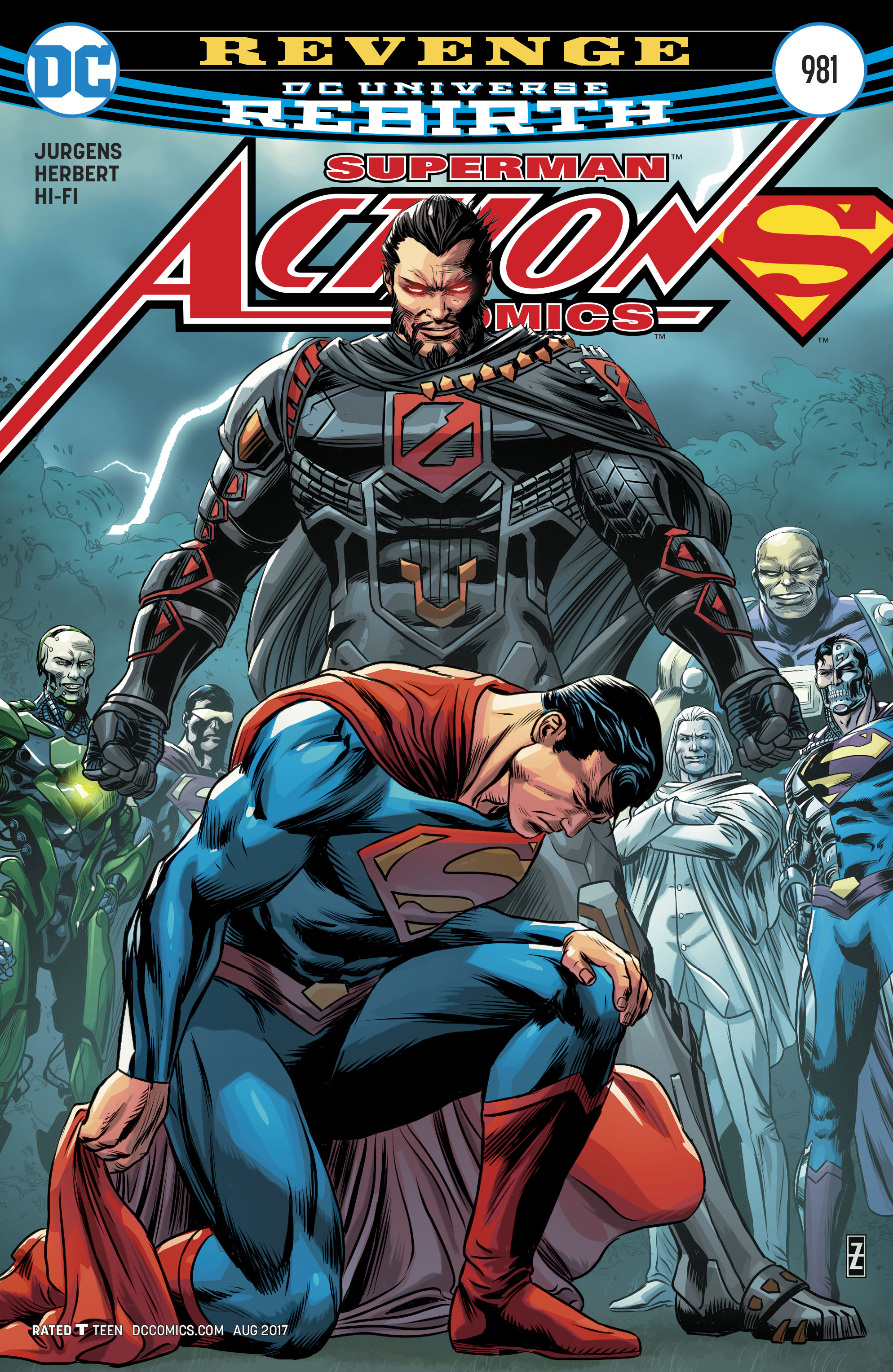 Read online Action Comics (2016) comic -  Issue #981 - 1