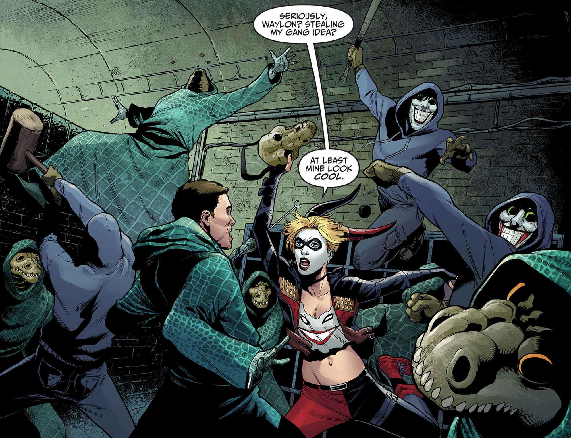 Read online Injustice: Ground Zero comic -  Issue #7 - 19