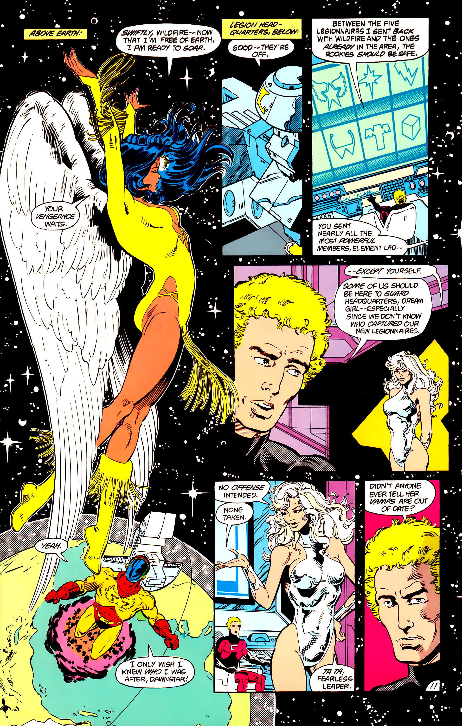 Legion of Super-Heroes (1984) 15 Page 12