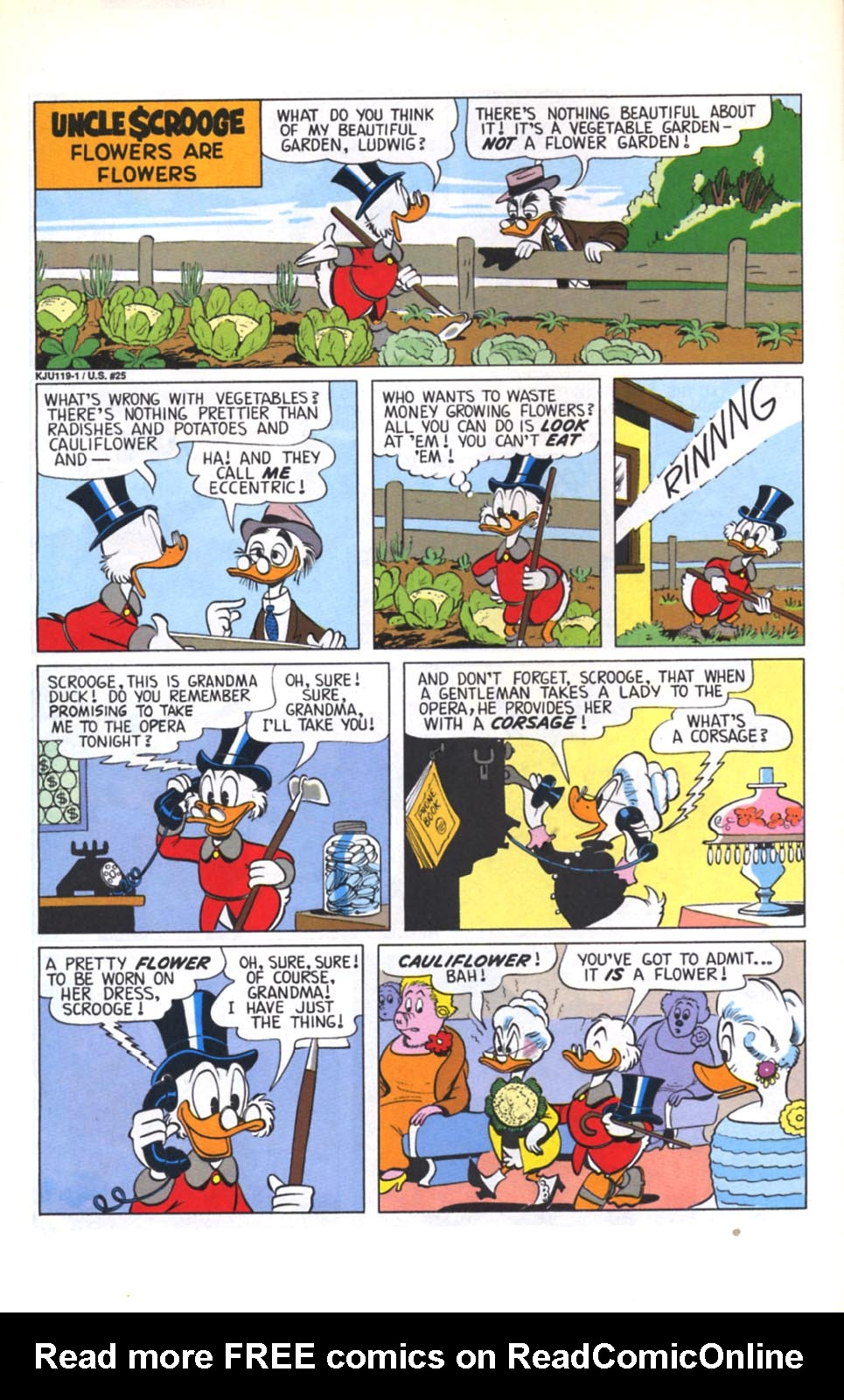 Read online Uncle Scrooge (1953) comic -  Issue #280 - 23