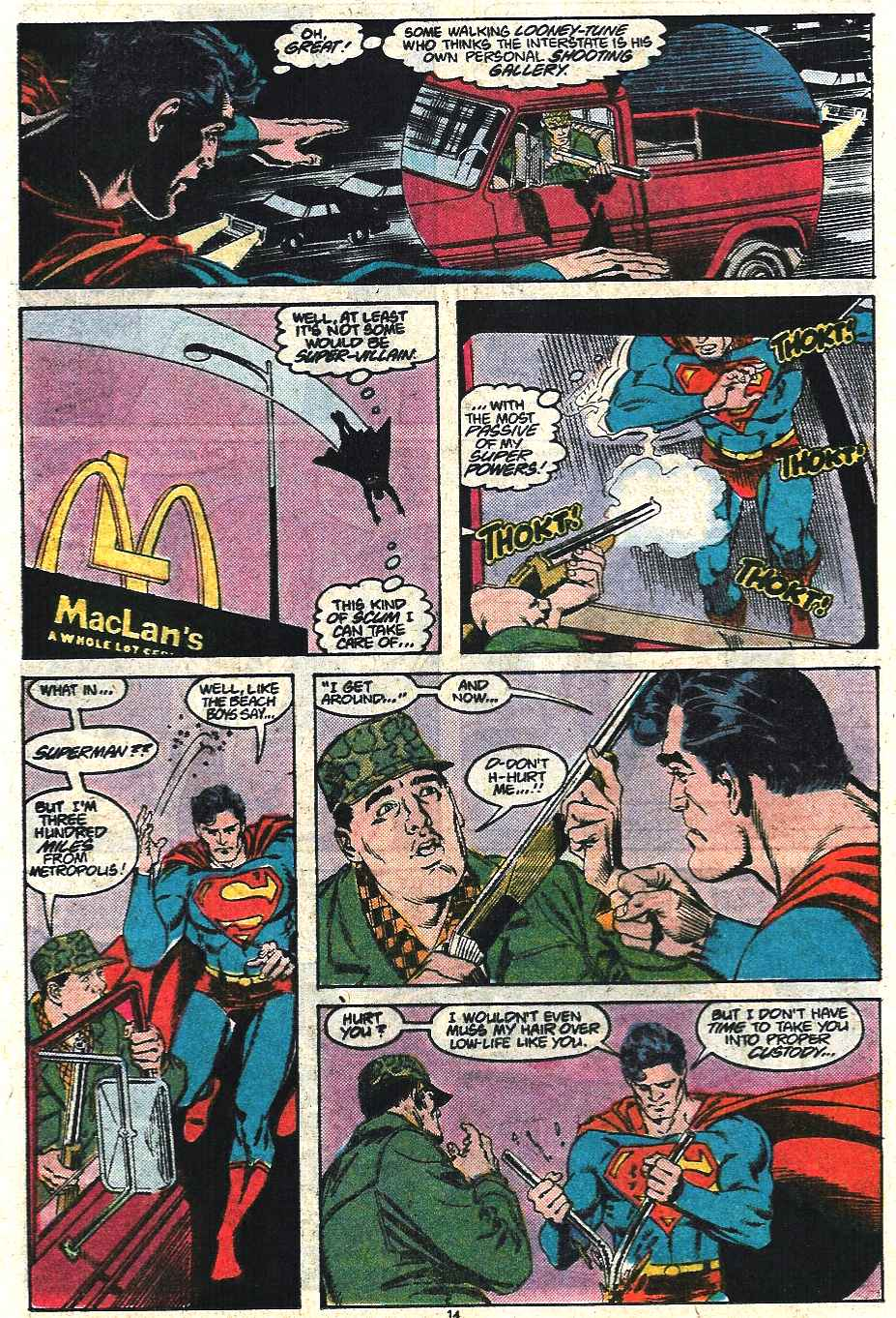 Read online Adventures of Superman (1987) comic -  Issue #440 - 15