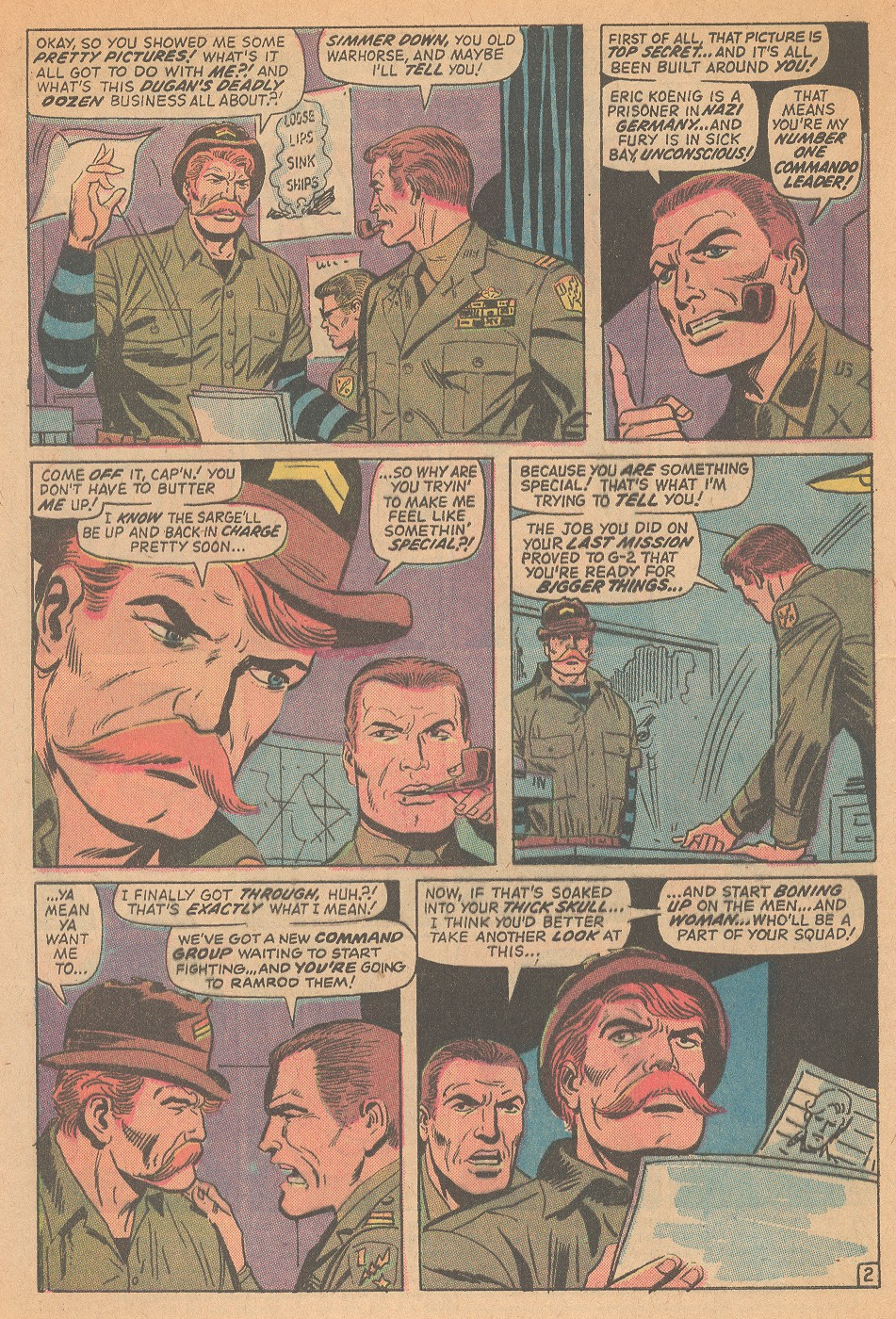 Read online Sgt. Fury comic -  Issue #98 - 4